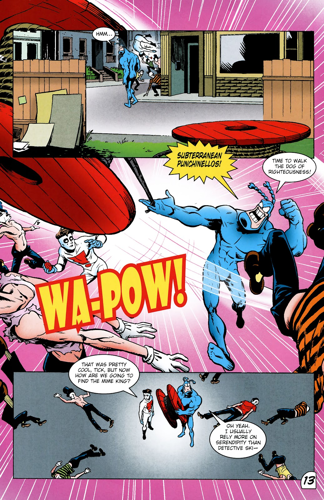Read online The Tick comic -  Issue #101 - 16