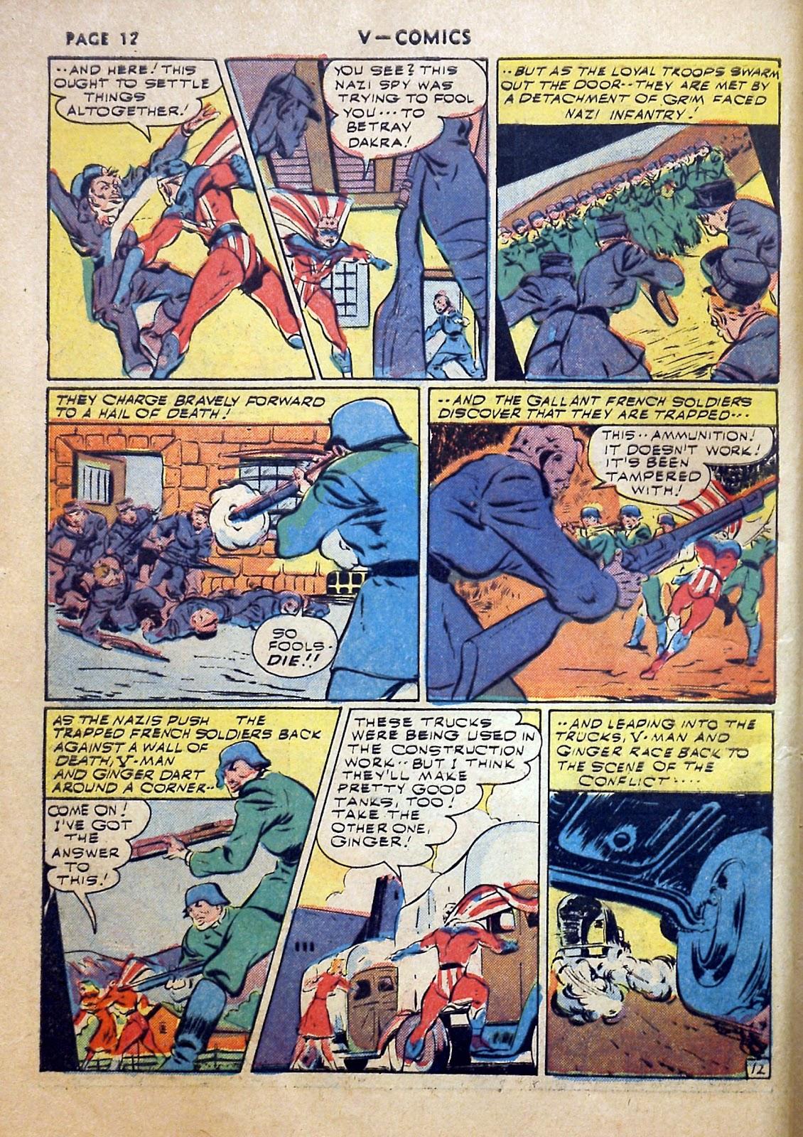Read online V...- Comics comic -  Issue #2 - 13