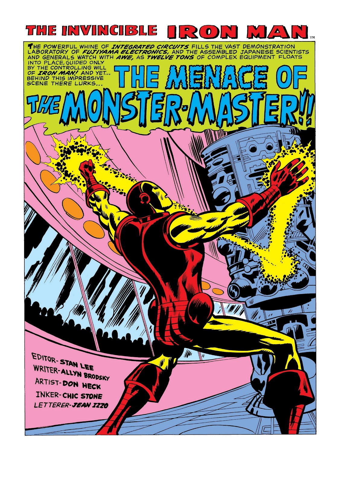 Read online Marvel Masterworks: The Invincible Iron Man comic -  Issue # TPB 7 (Part 1) - 90
