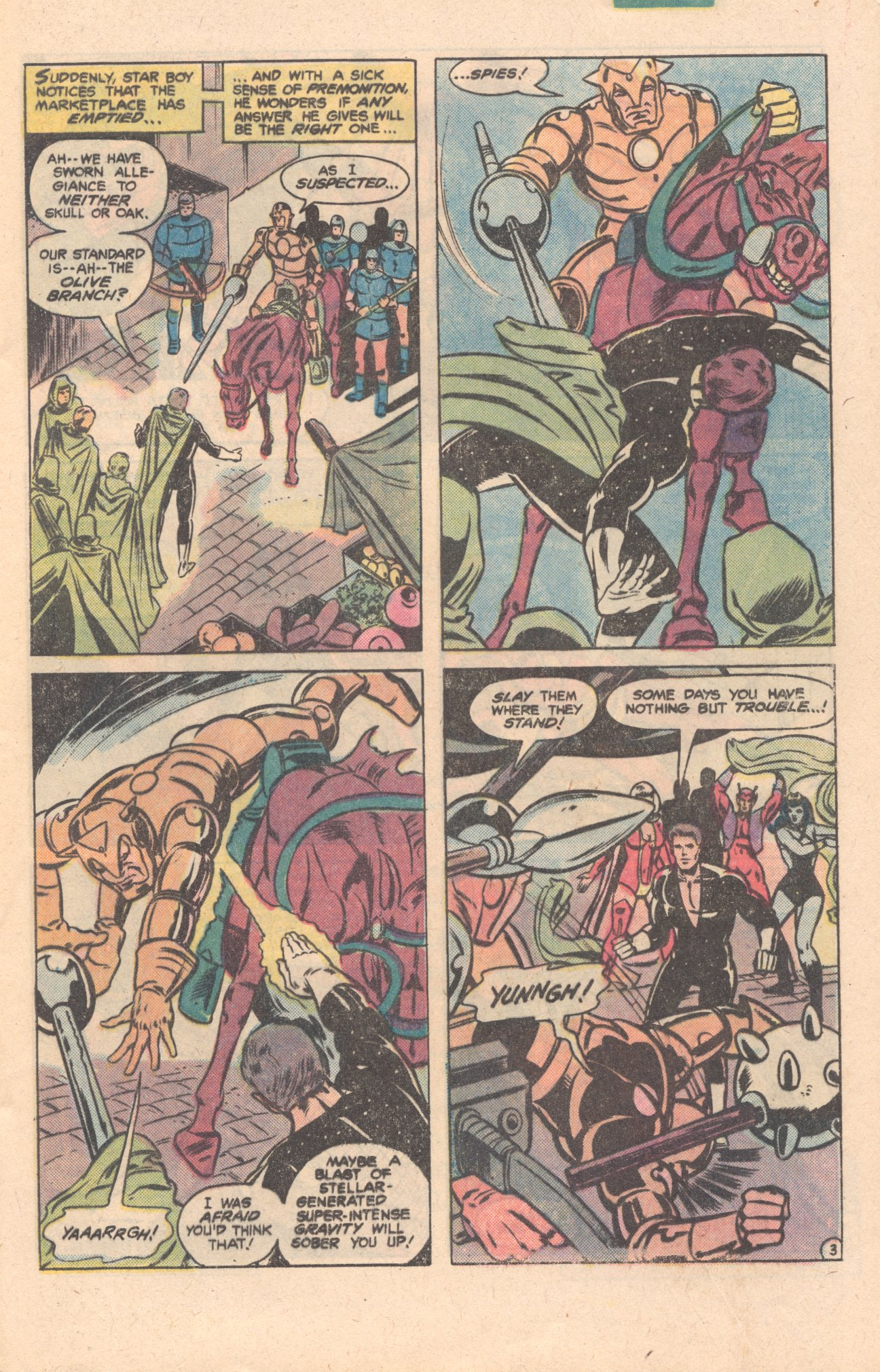 Legion of Super-Heroes (1980) 276 Page 3