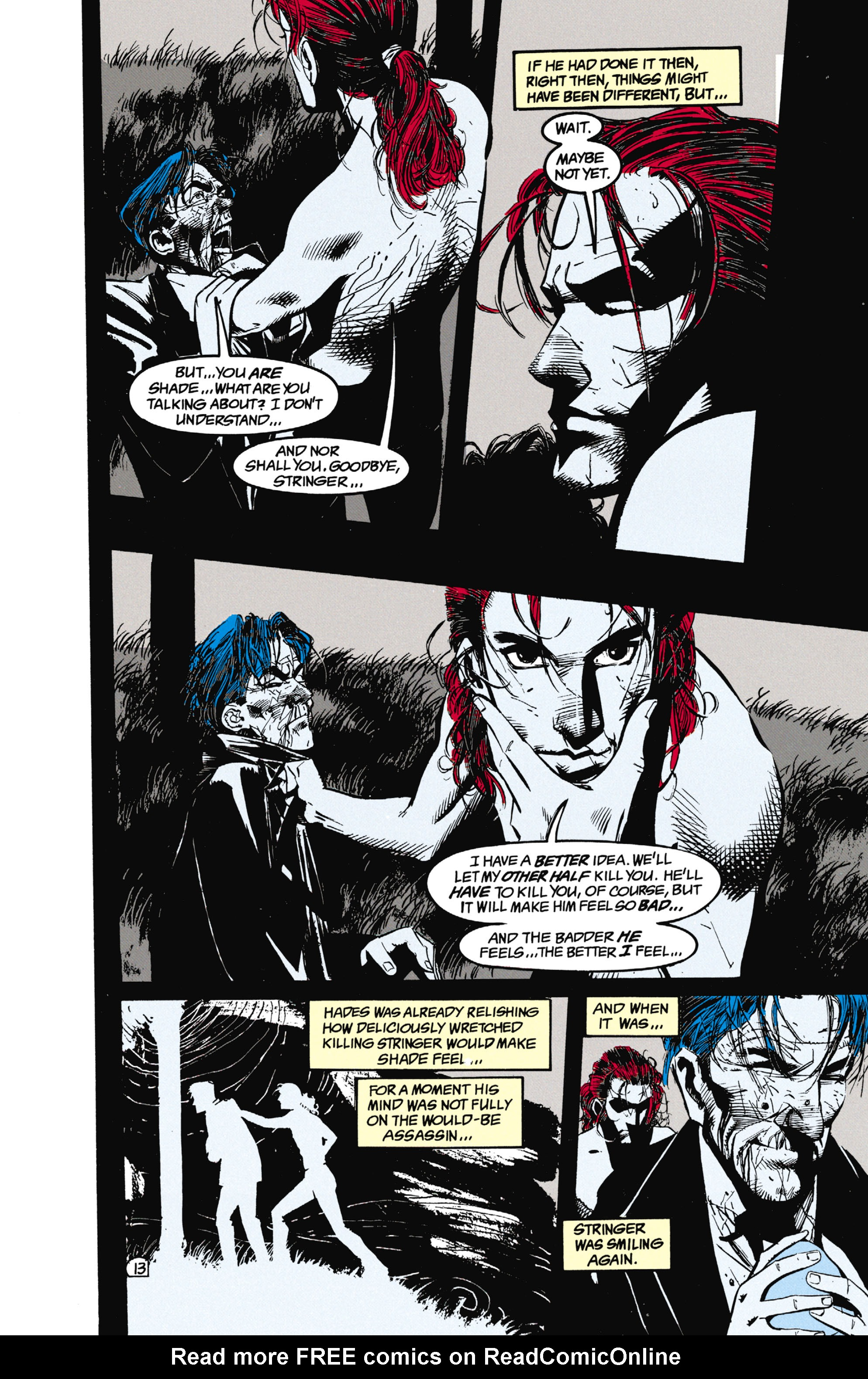 Read online Shade, the Changing Man comic -  Issue #25 - 14