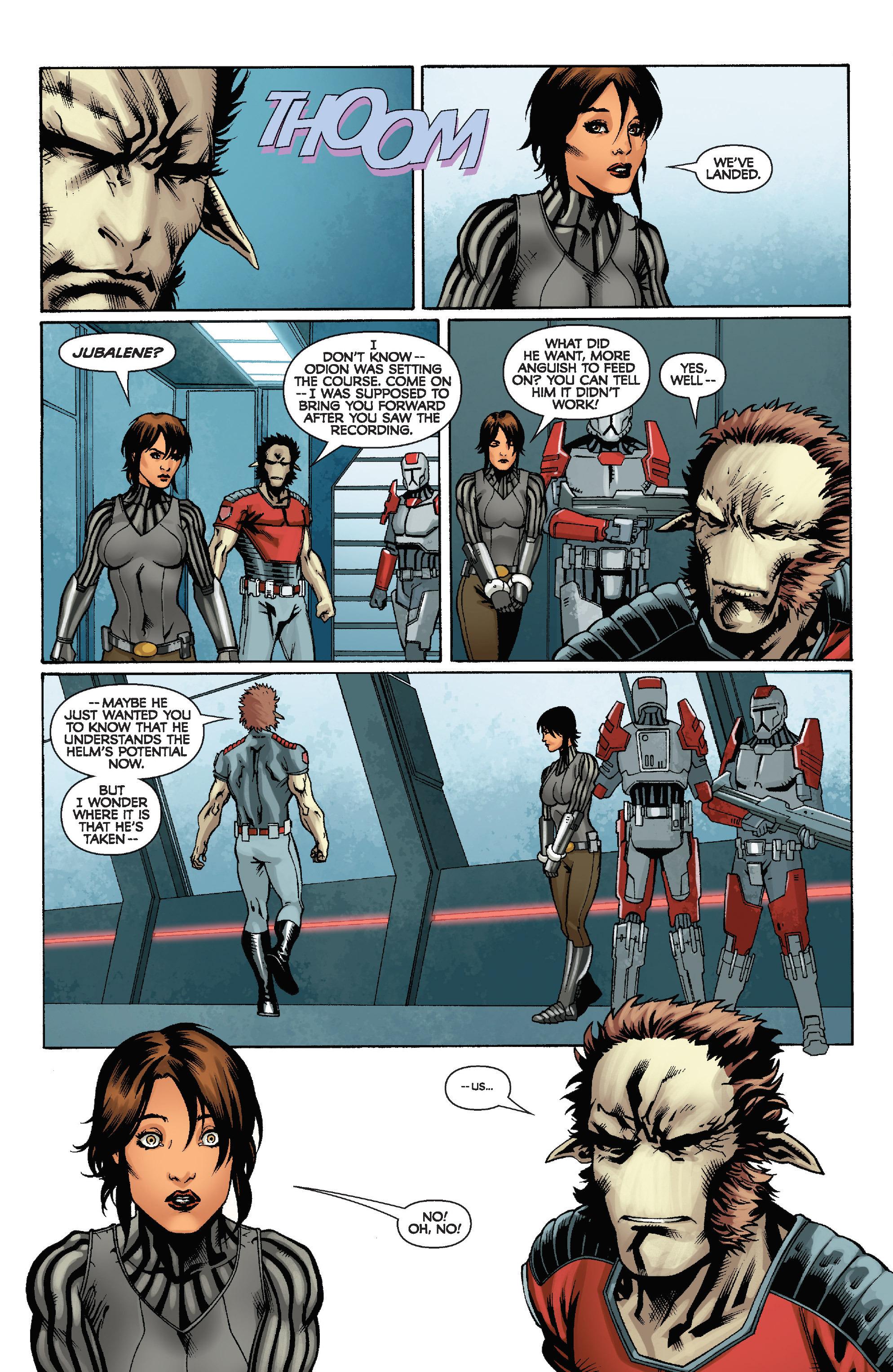 Read online Star Wars: Knight Errant - Escape comic -  Issue #4 - 23