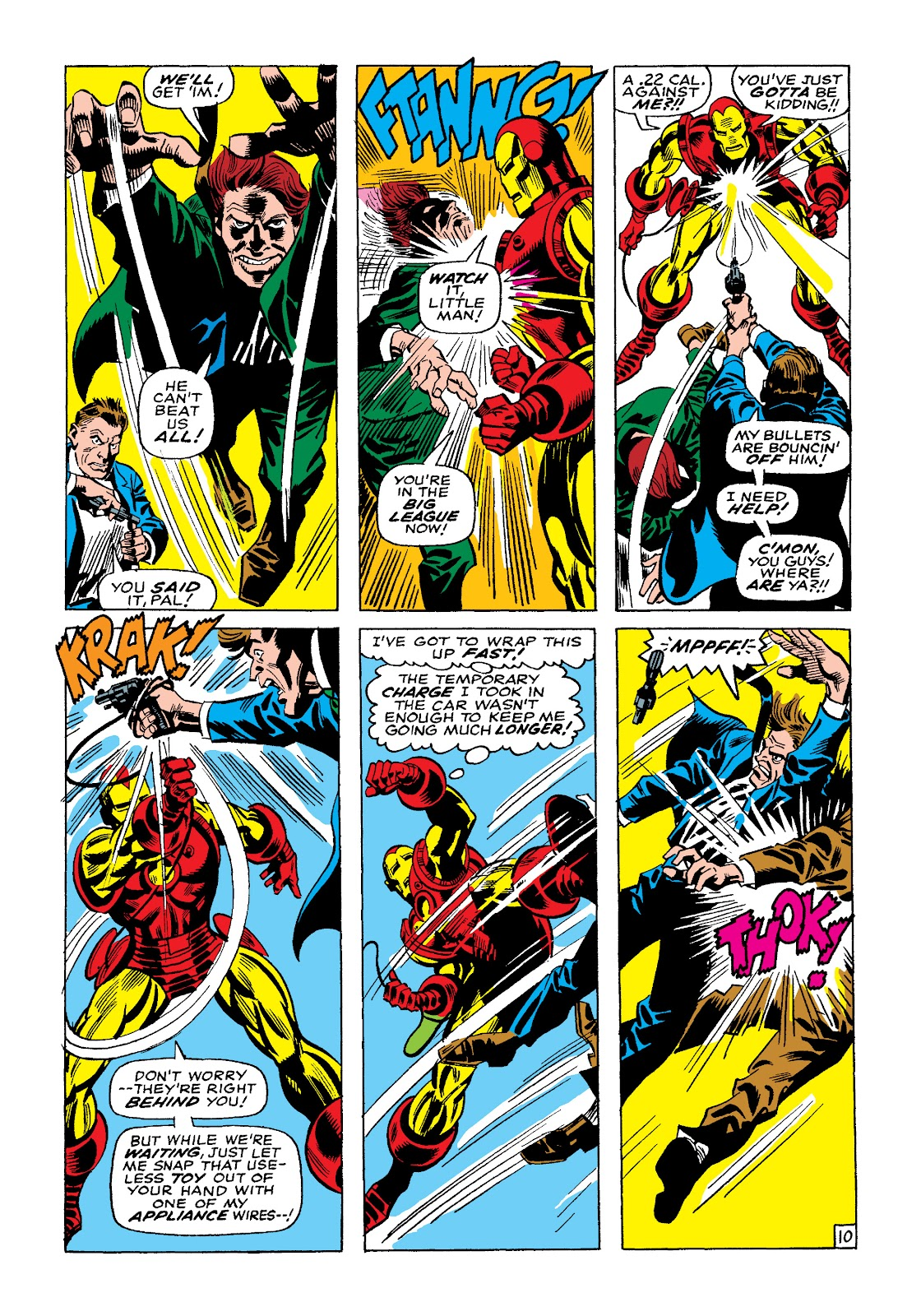 Read online Marvel Masterworks: The Invincible Iron Man comic -  Issue # TPB 4 (Part 2) - 85