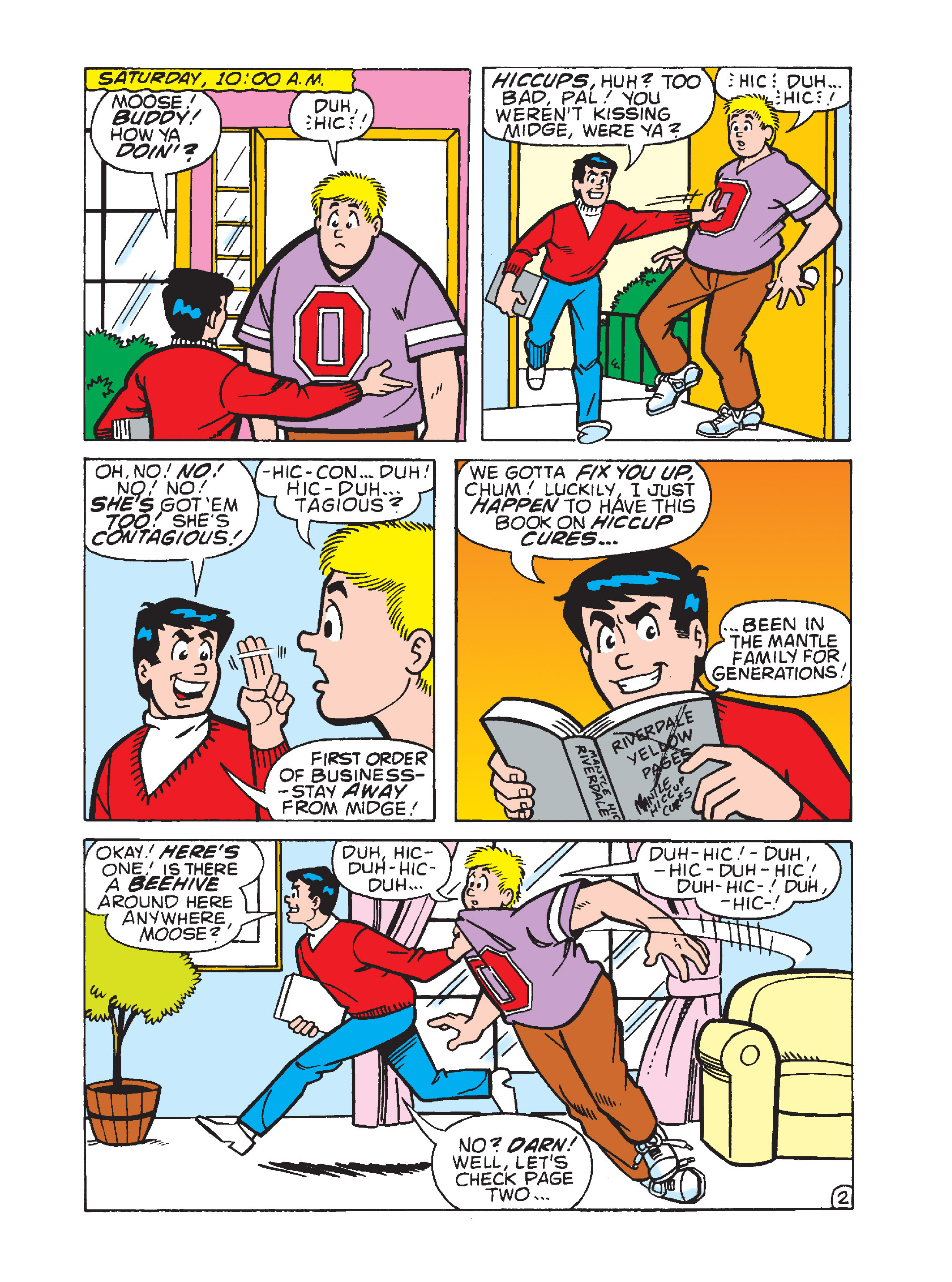Read online Archie 75th Anniversary Digest comic -  Issue #3 - 141