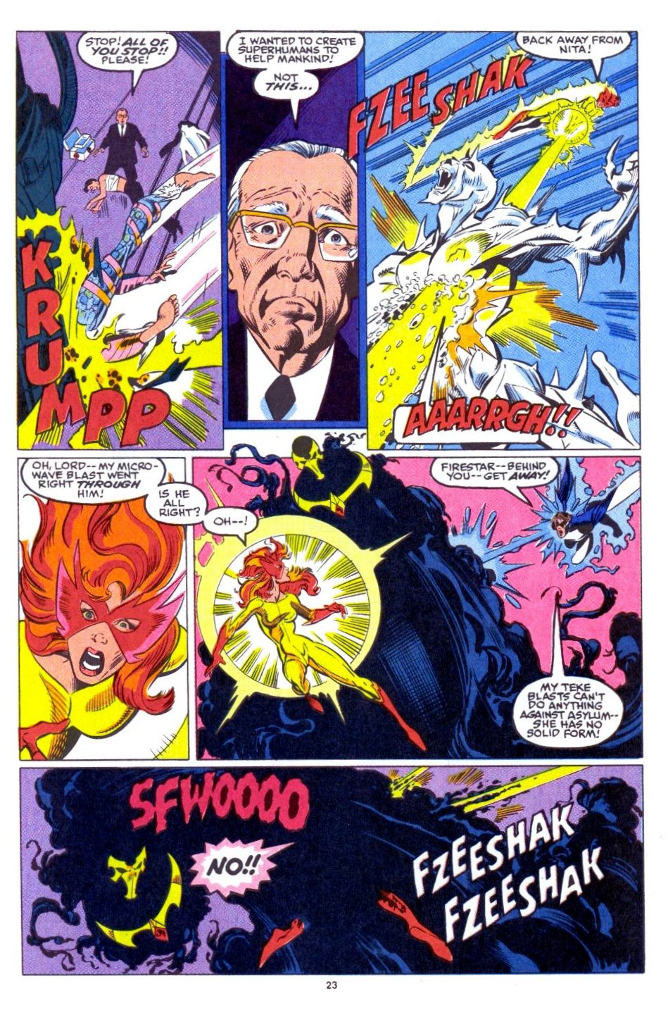 The New Warriors Issue #15 #19 - English 18