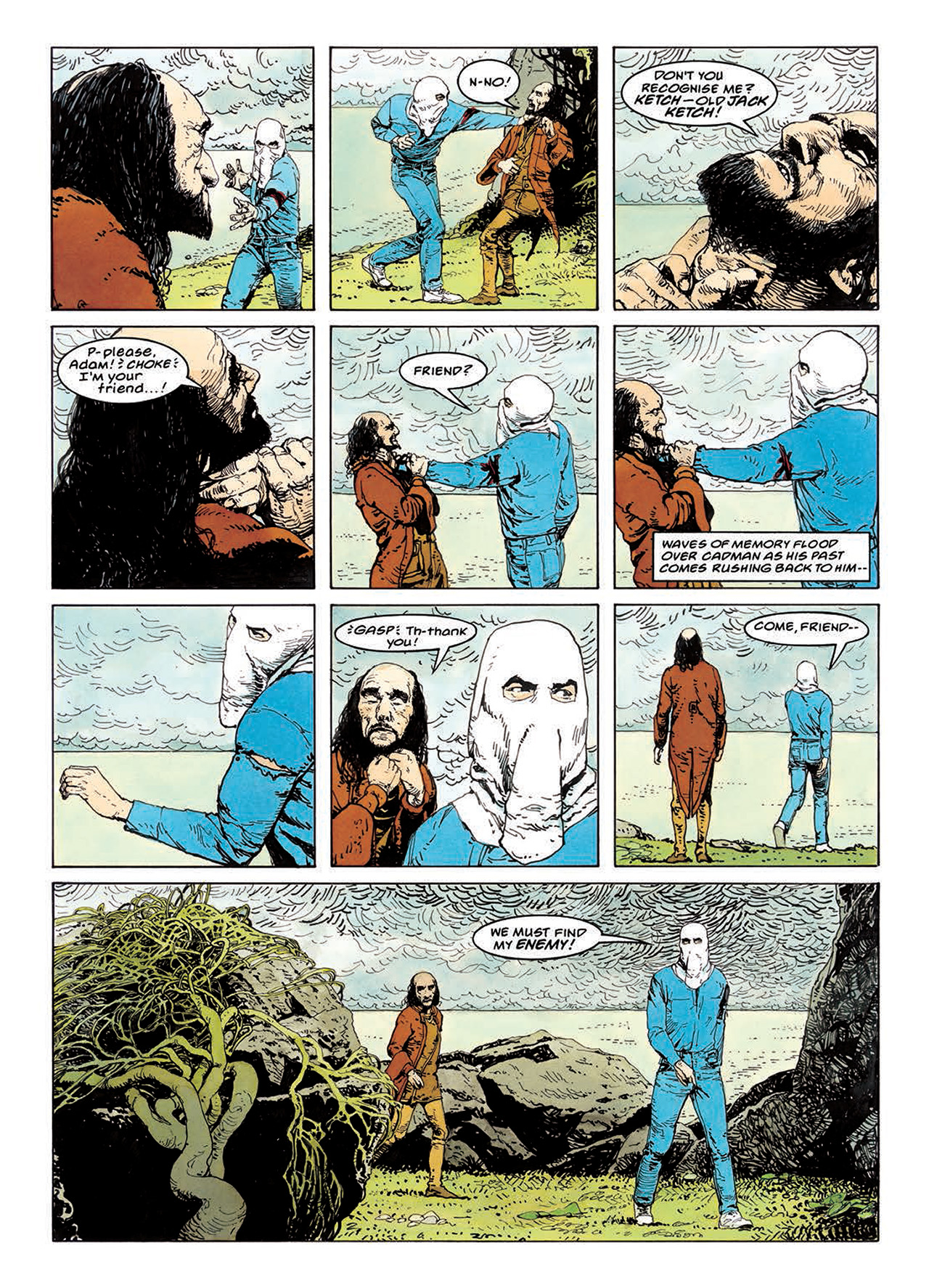 Read online Mazeworld comic -  Issue # TPB - 107