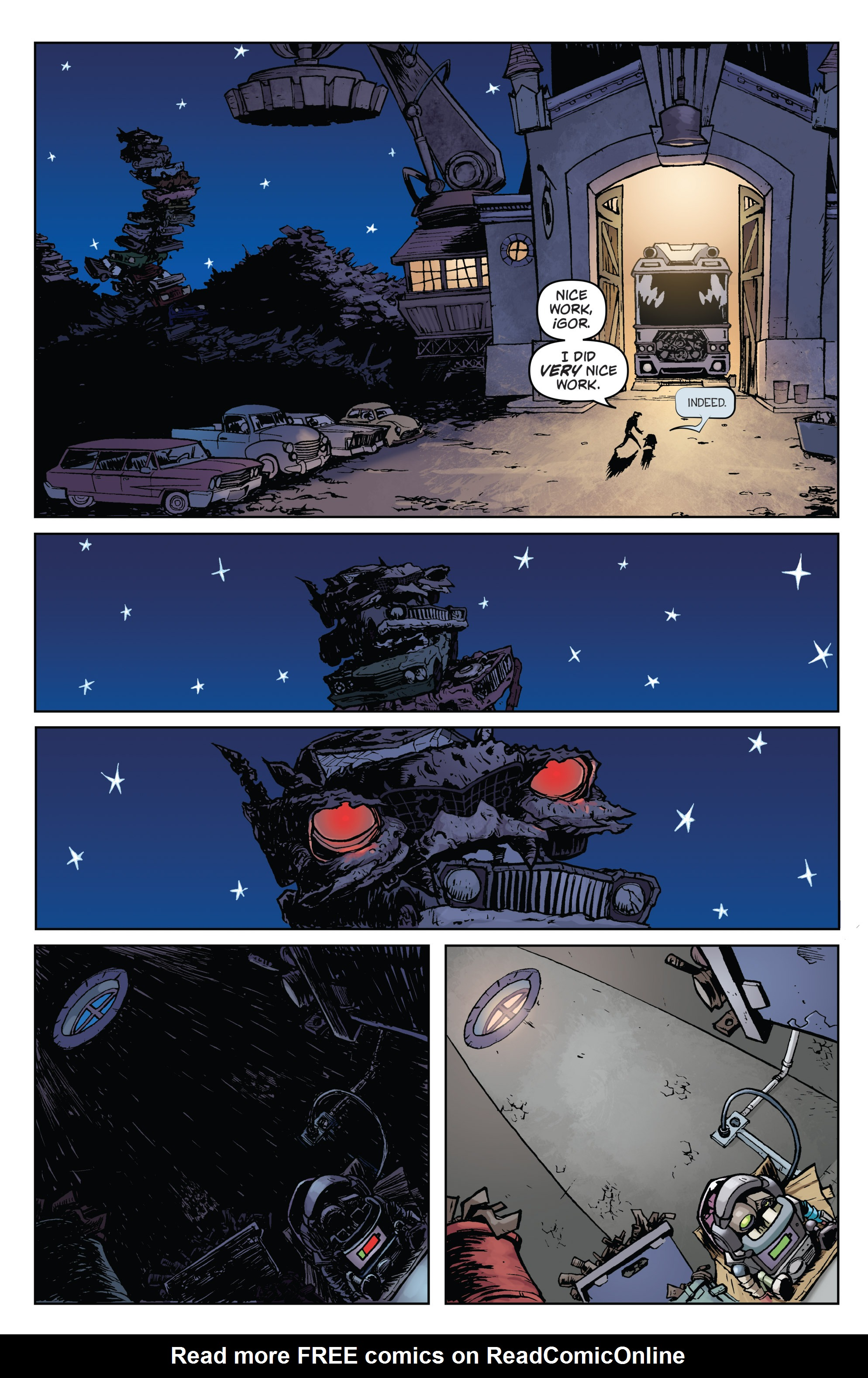 Read online Monster Motors comic -  Issue # Full - 9