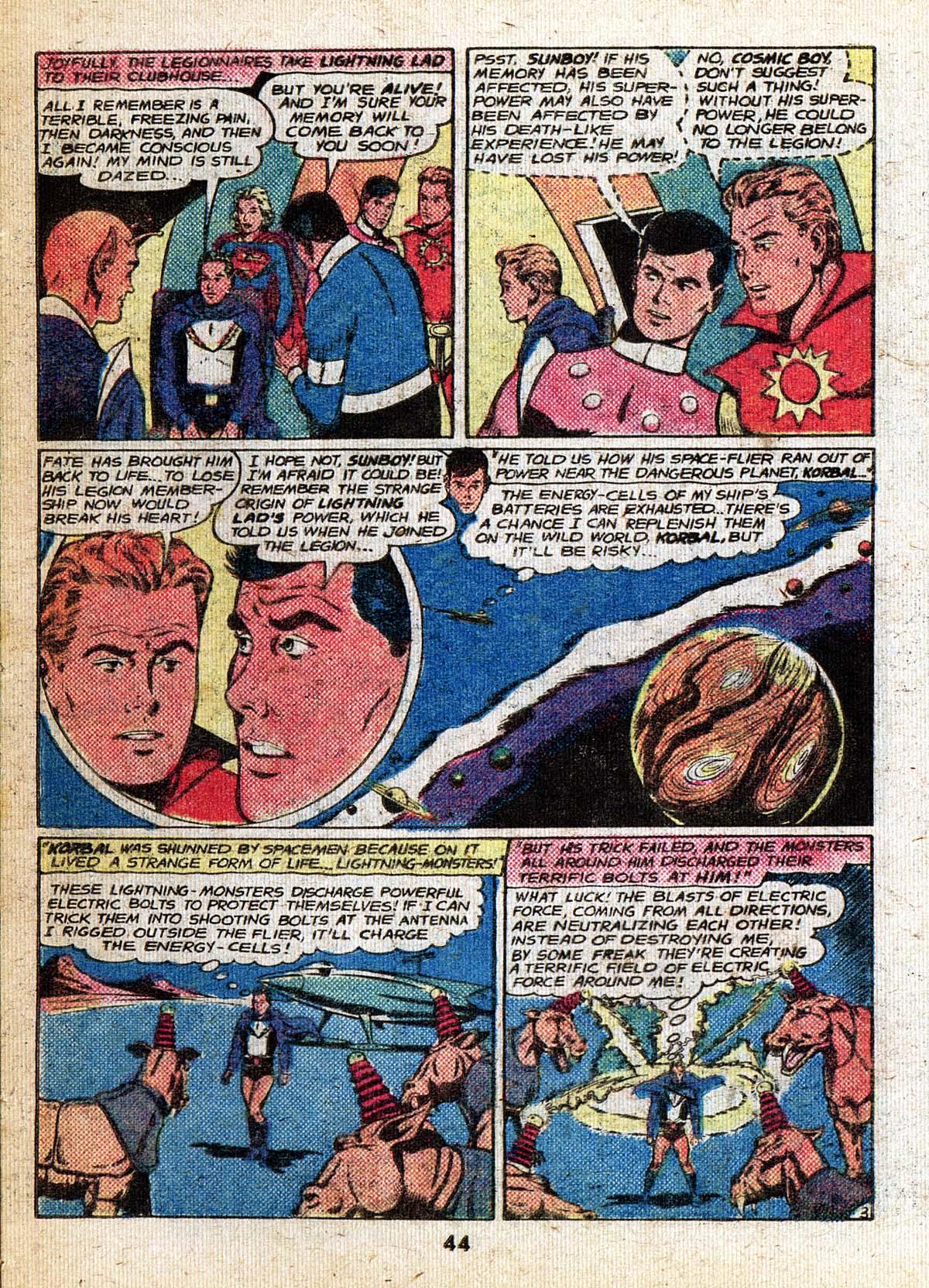 Read online Adventure Comics (1938) comic -  Issue #500 - 44