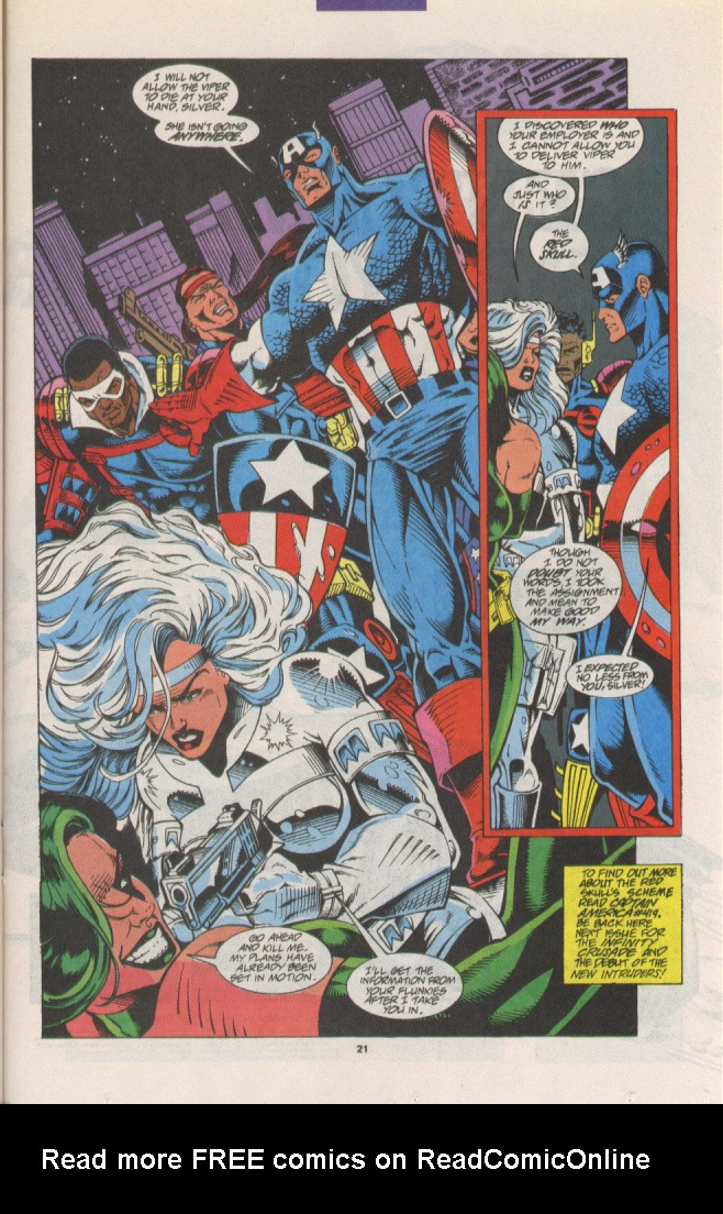 Read online Silver Sable and the Wild Pack comic -  Issue #15 - 18