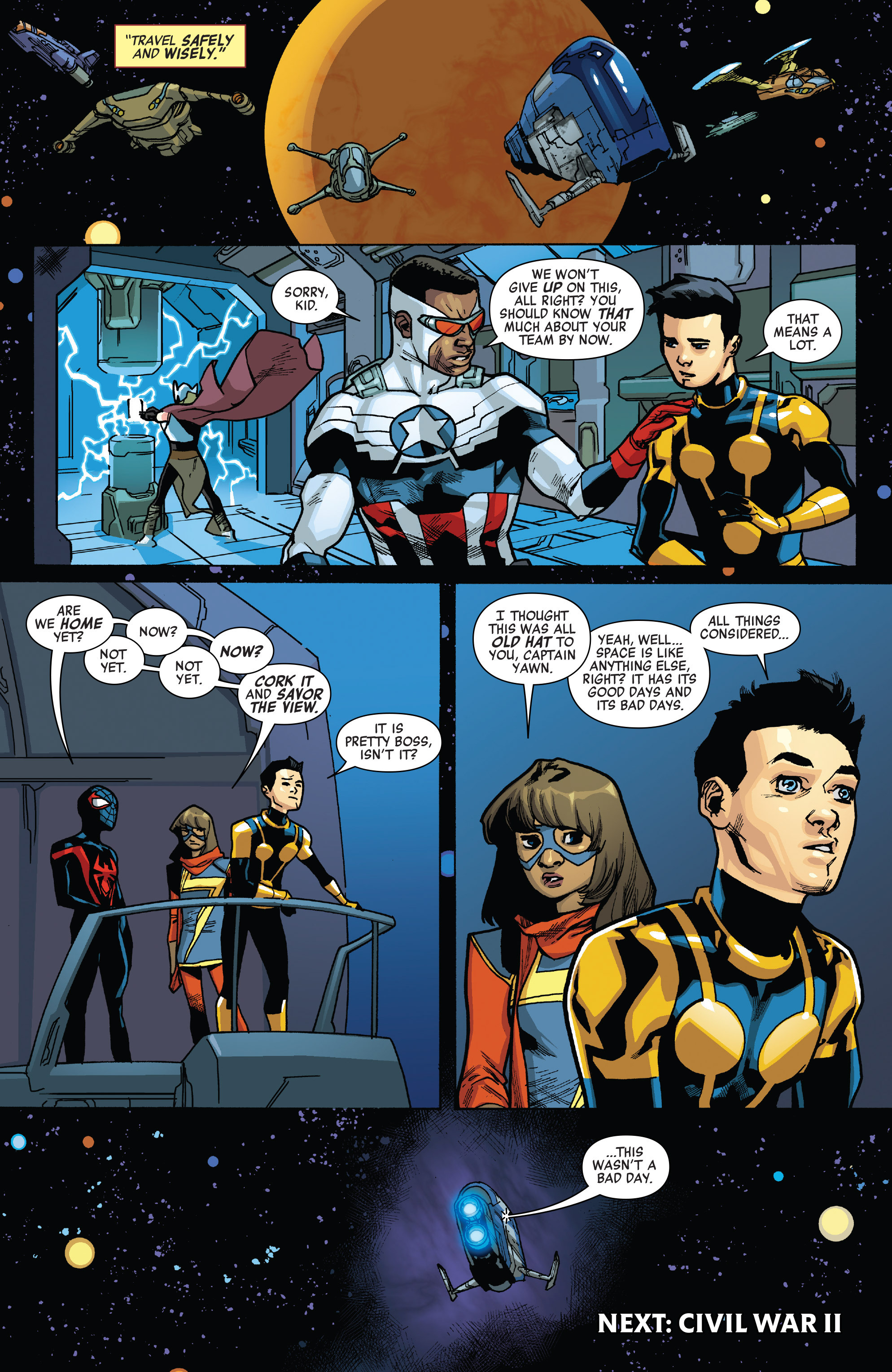 Read online All-New, All-Different Avengers comic -  Issue #12 - 22