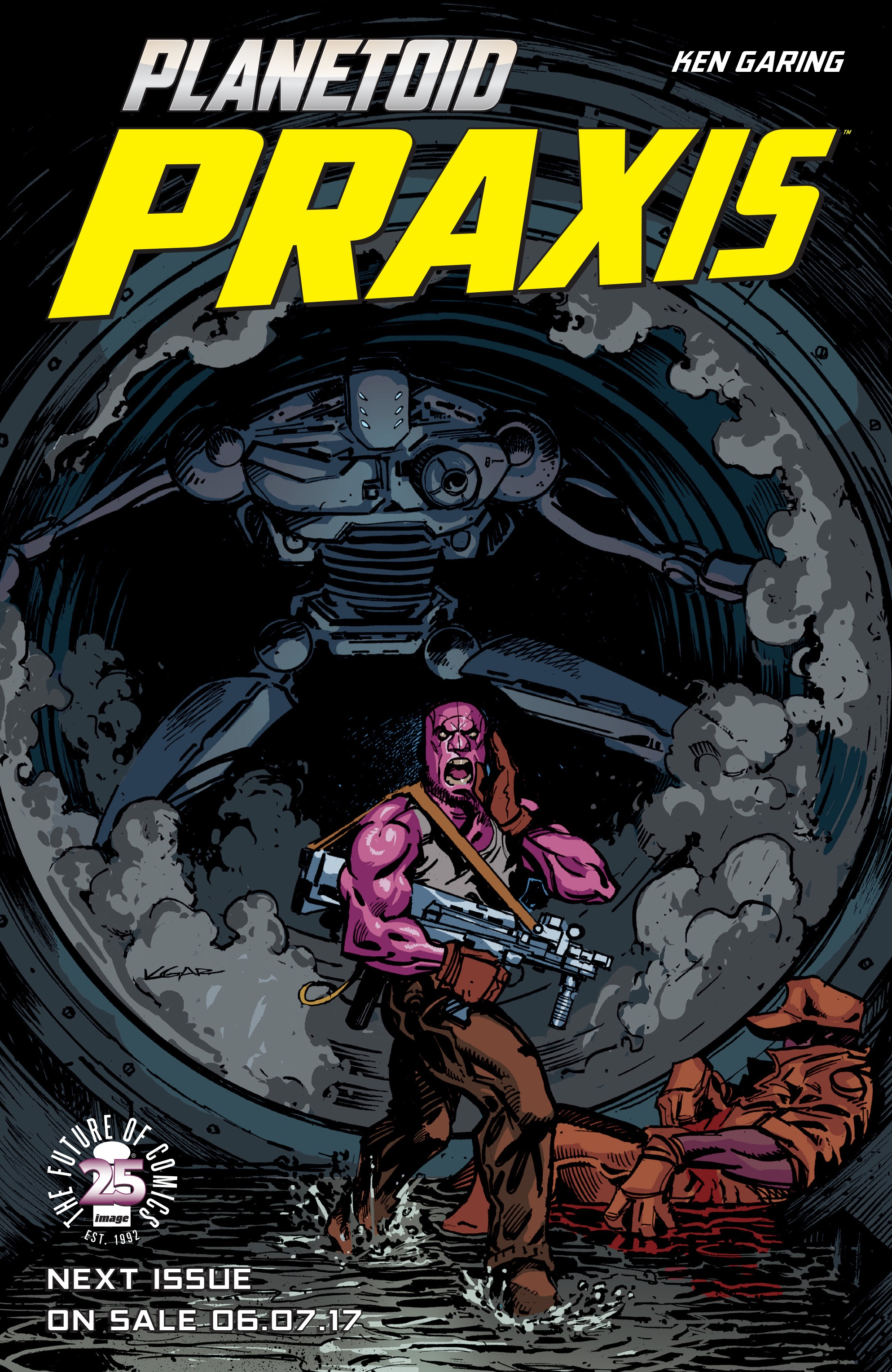 Read online Planetoid Praxis comic -  Issue #4 - 25