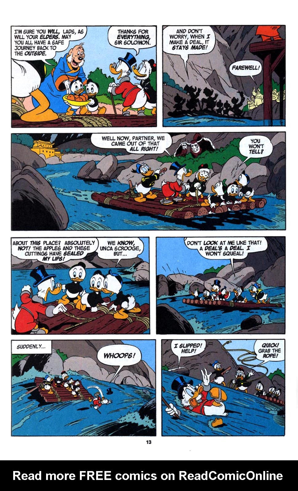 Read online Uncle Scrooge (1953) comic -  Issue #246 - 15