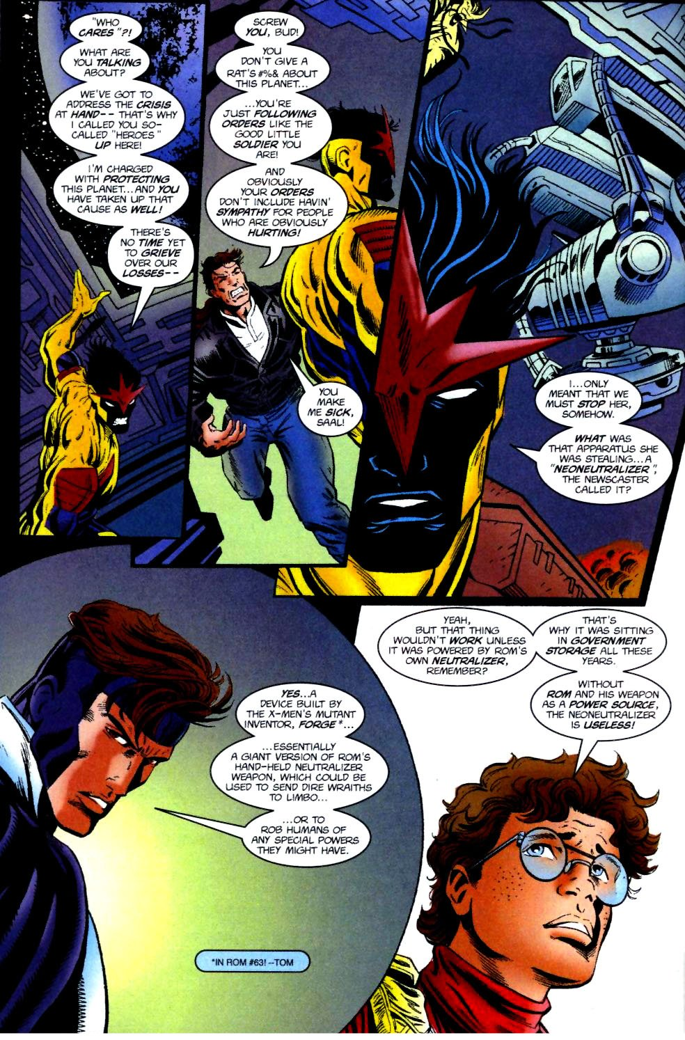 The New Warriors Issue #74 #78 - English 22