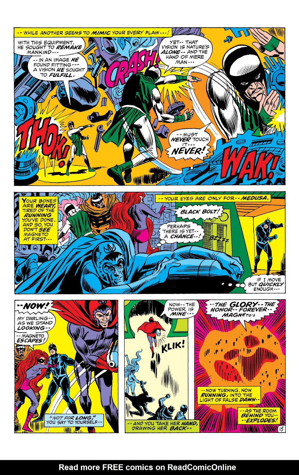 Read online Marvel Masterworks: The Inhumans comic -  Issue # TPB 1 (Part 2) - 93