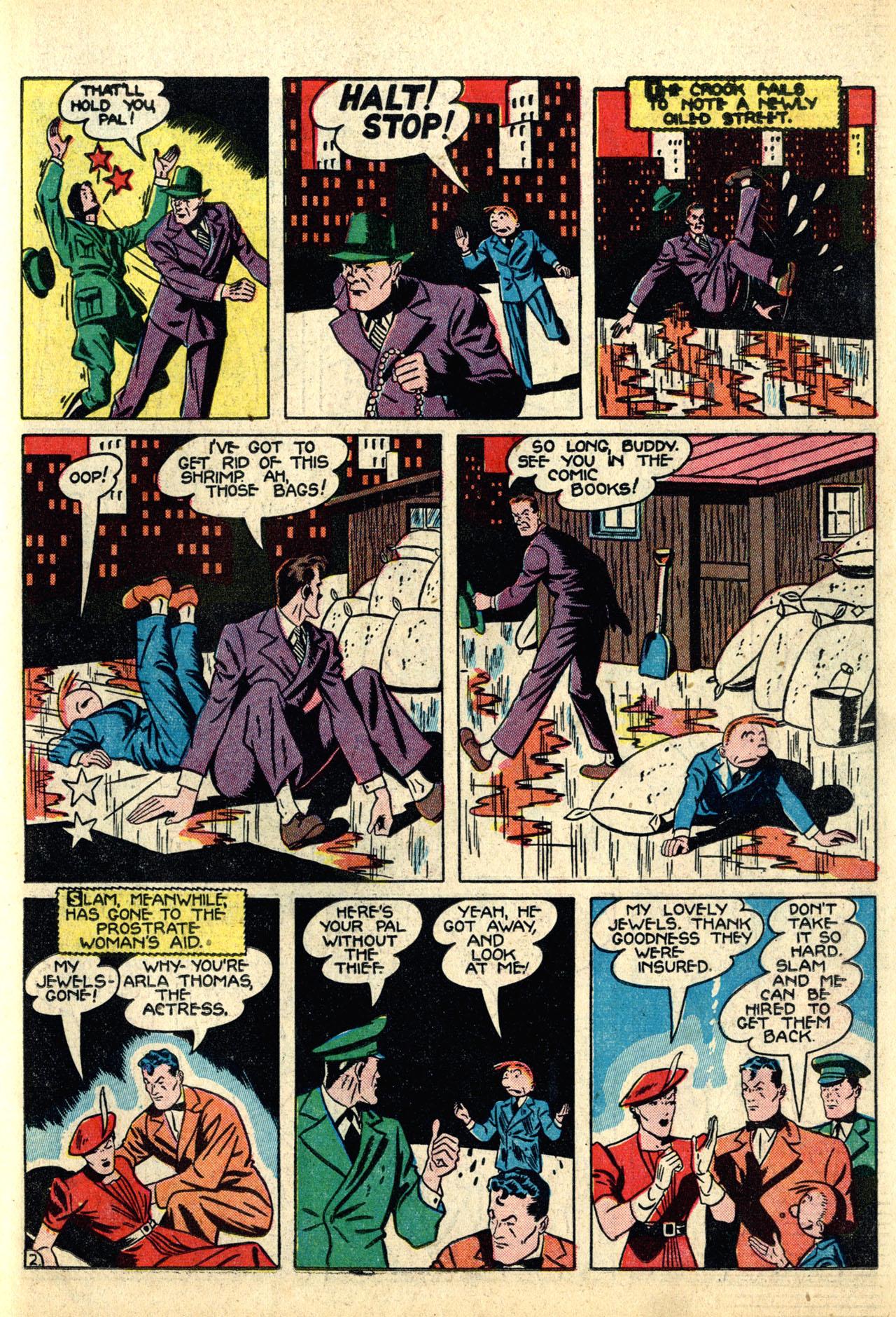 Read online Detective Comics (1937) comic -  Issue #50 - 59