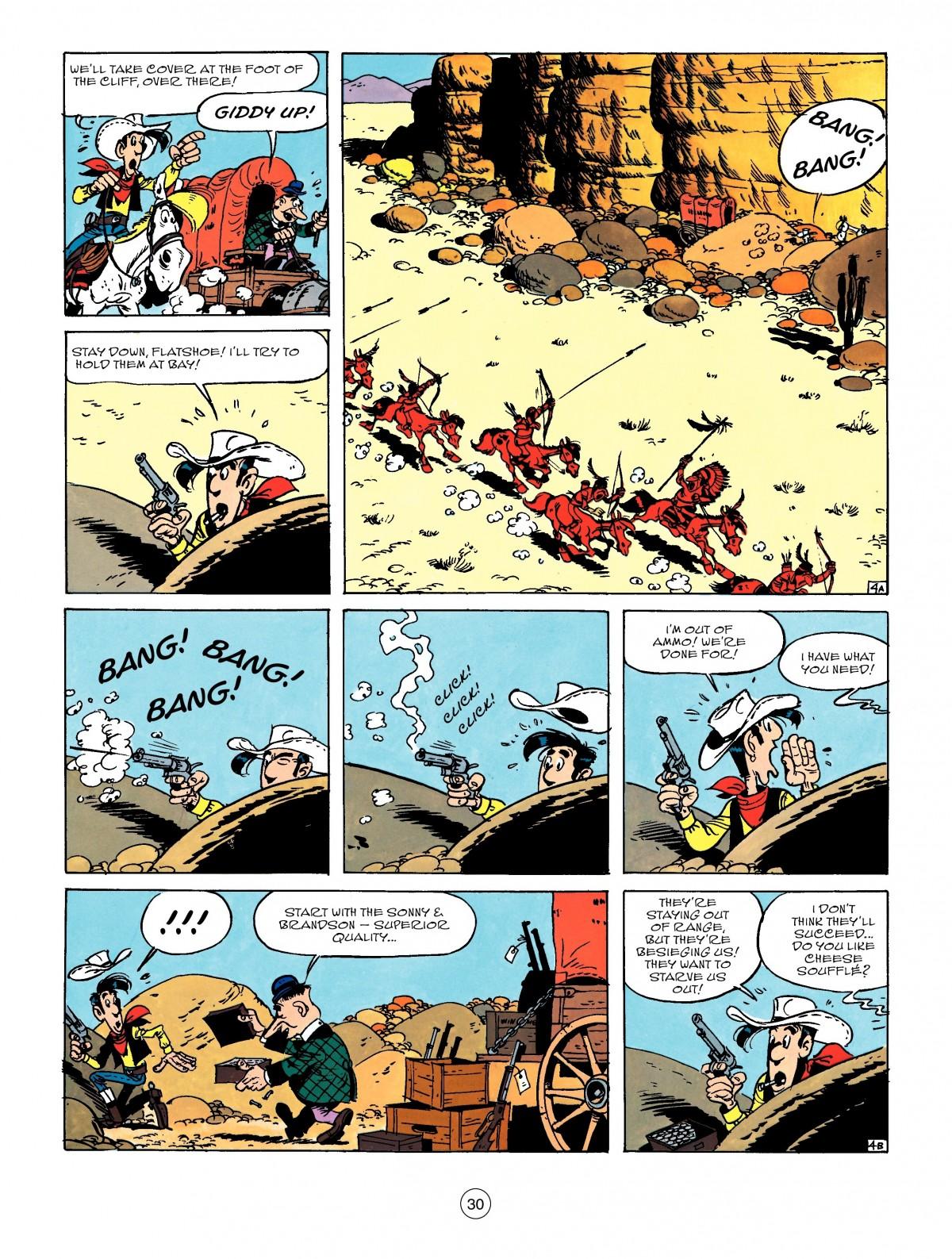 Read online A Lucky Luke Adventure comic -  Issue #50 - 30