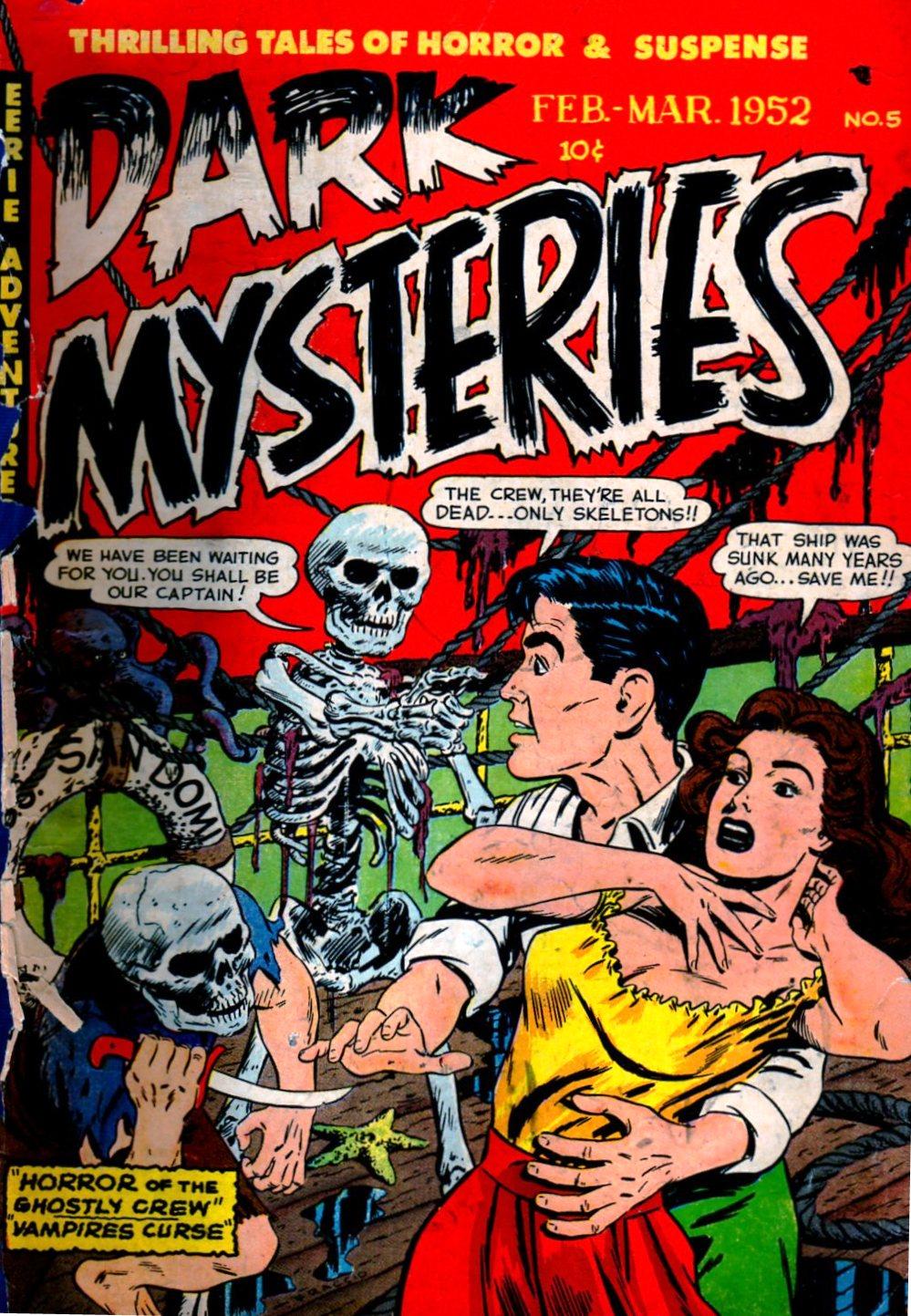 Dark Mysteries 5 Page 1