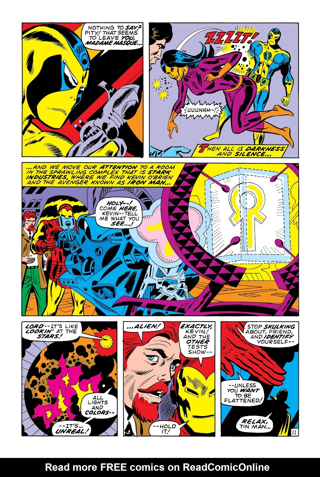 Read online Marvel Masterworks: The Invincible Iron Man comic -  Issue # TPB 7 (Part 2) - 100