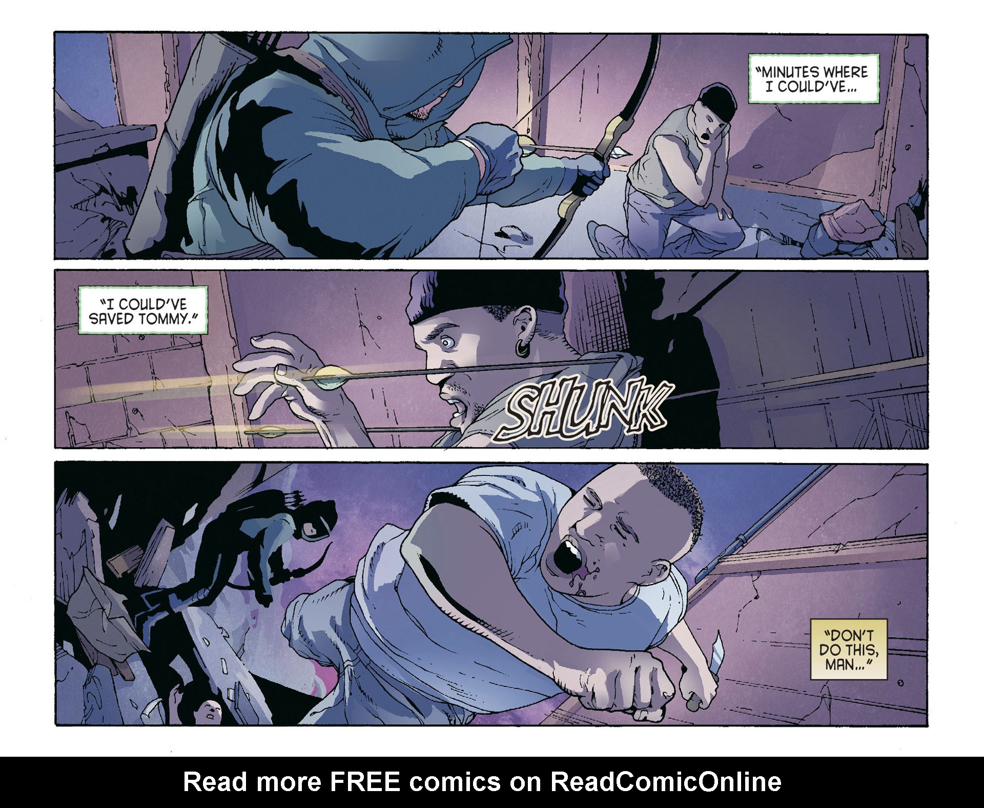 Read online Arrow [II] comic -  Issue #36 - 18