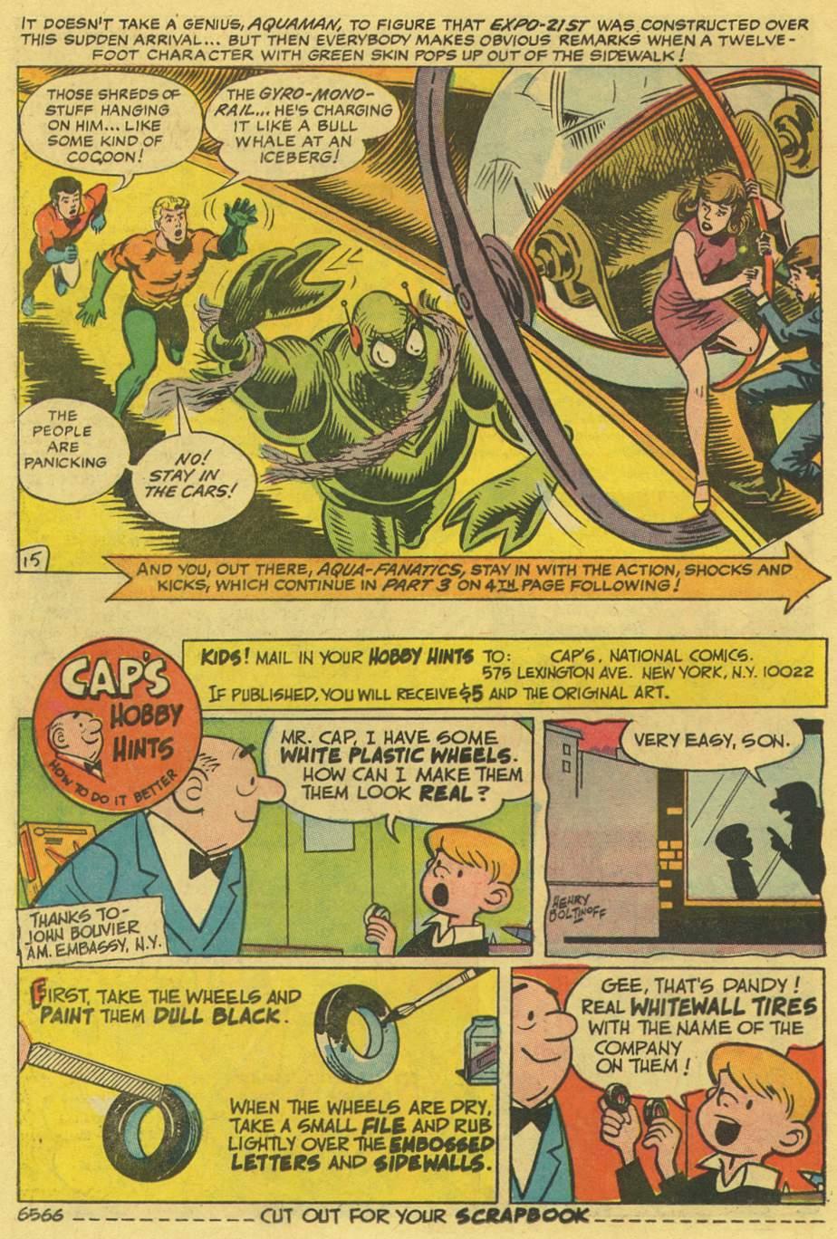 Read online Aquaman (1962) comic -  Issue #36 - 21