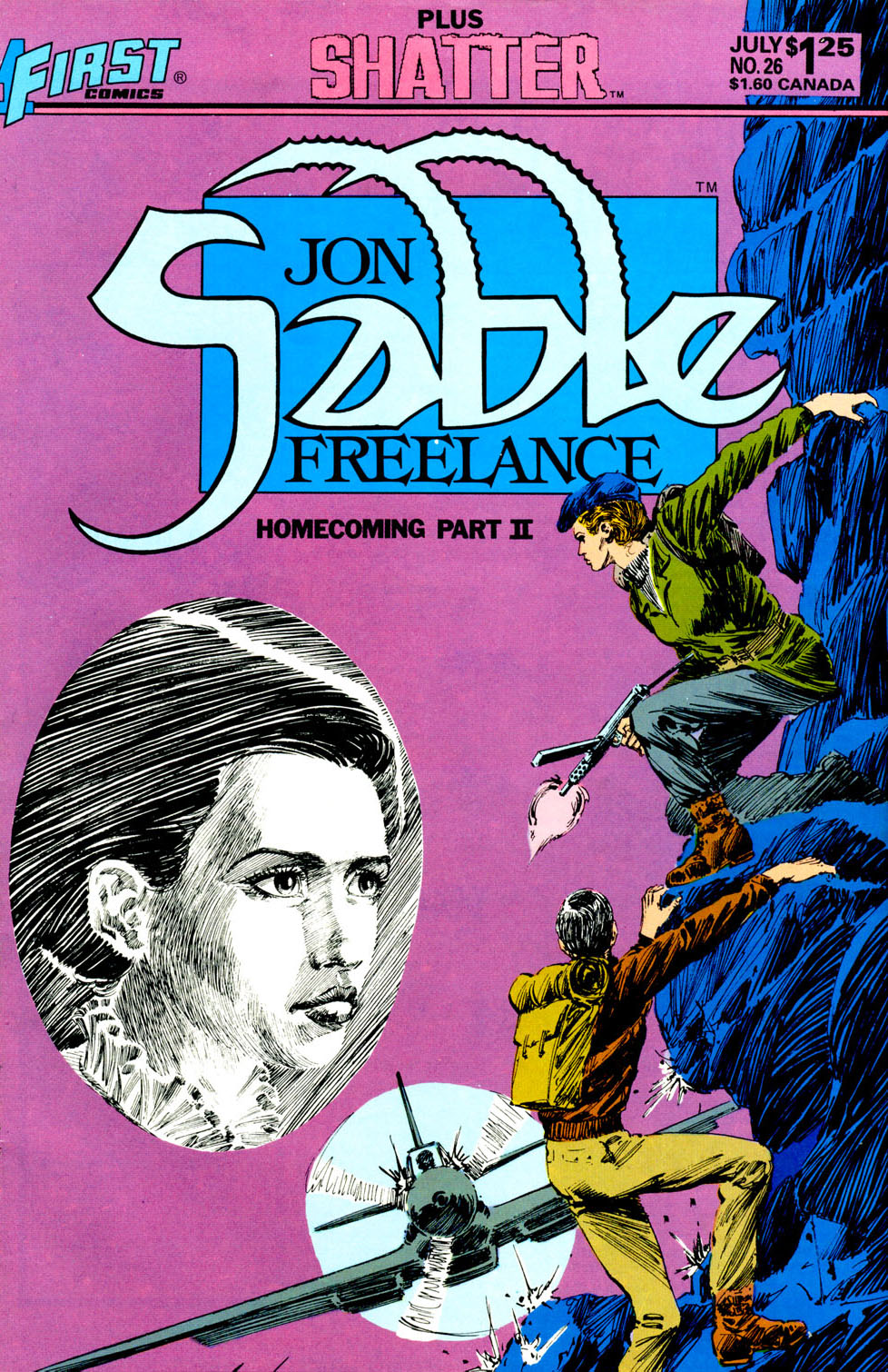 Jon Sable, Freelance issue 26 - Page 1