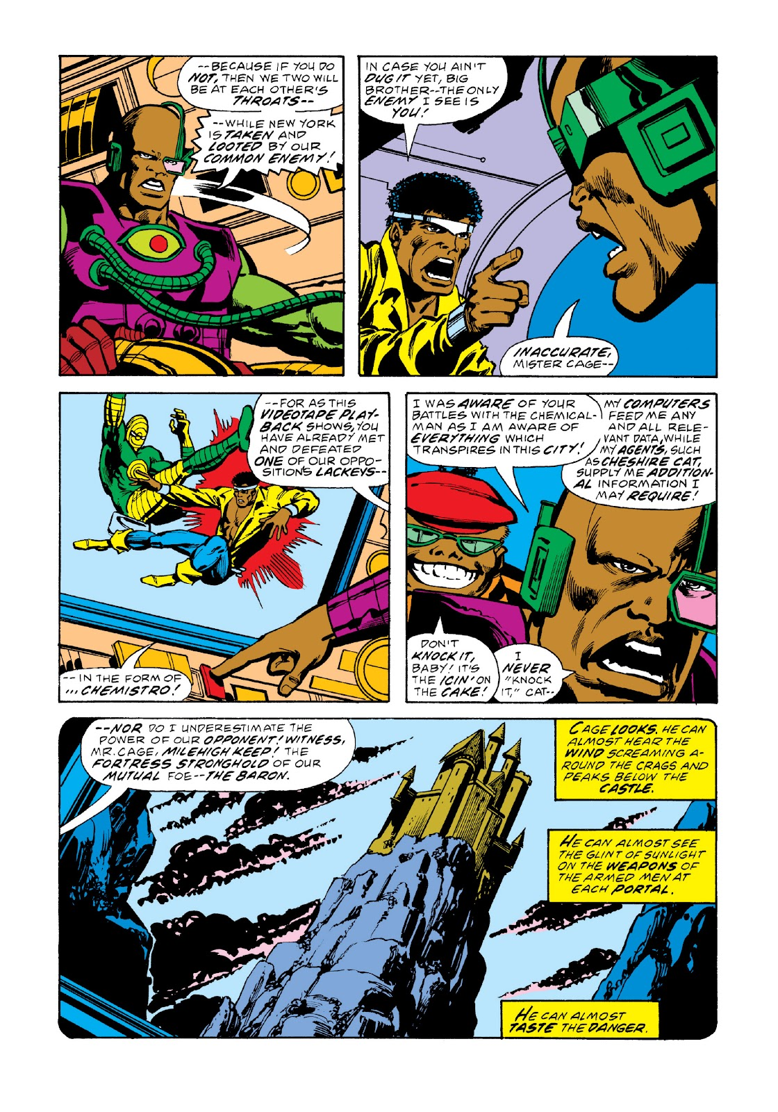 Read online Marvel Masterworks: Luke Cage, Power Man comic -  Issue # TPB 3 (Part 2) - 60