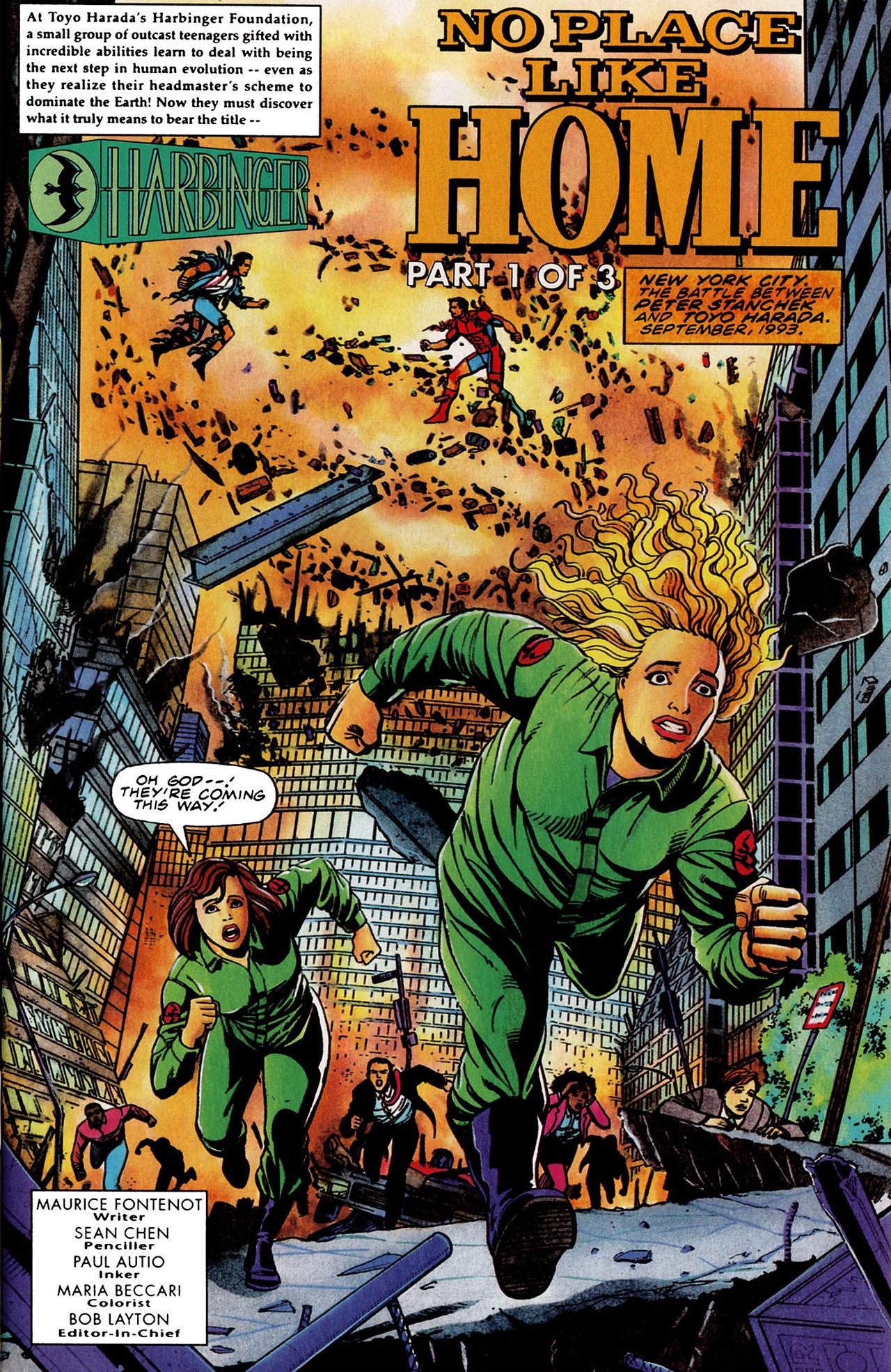 Read online Harbinger (1992) comic -  Issue #35 - 2