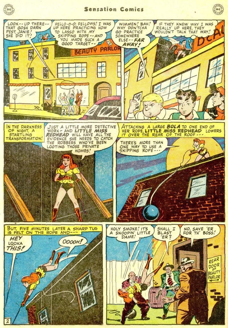 Read online Sensation (Mystery) Comics comic -  Issue #77 - 18