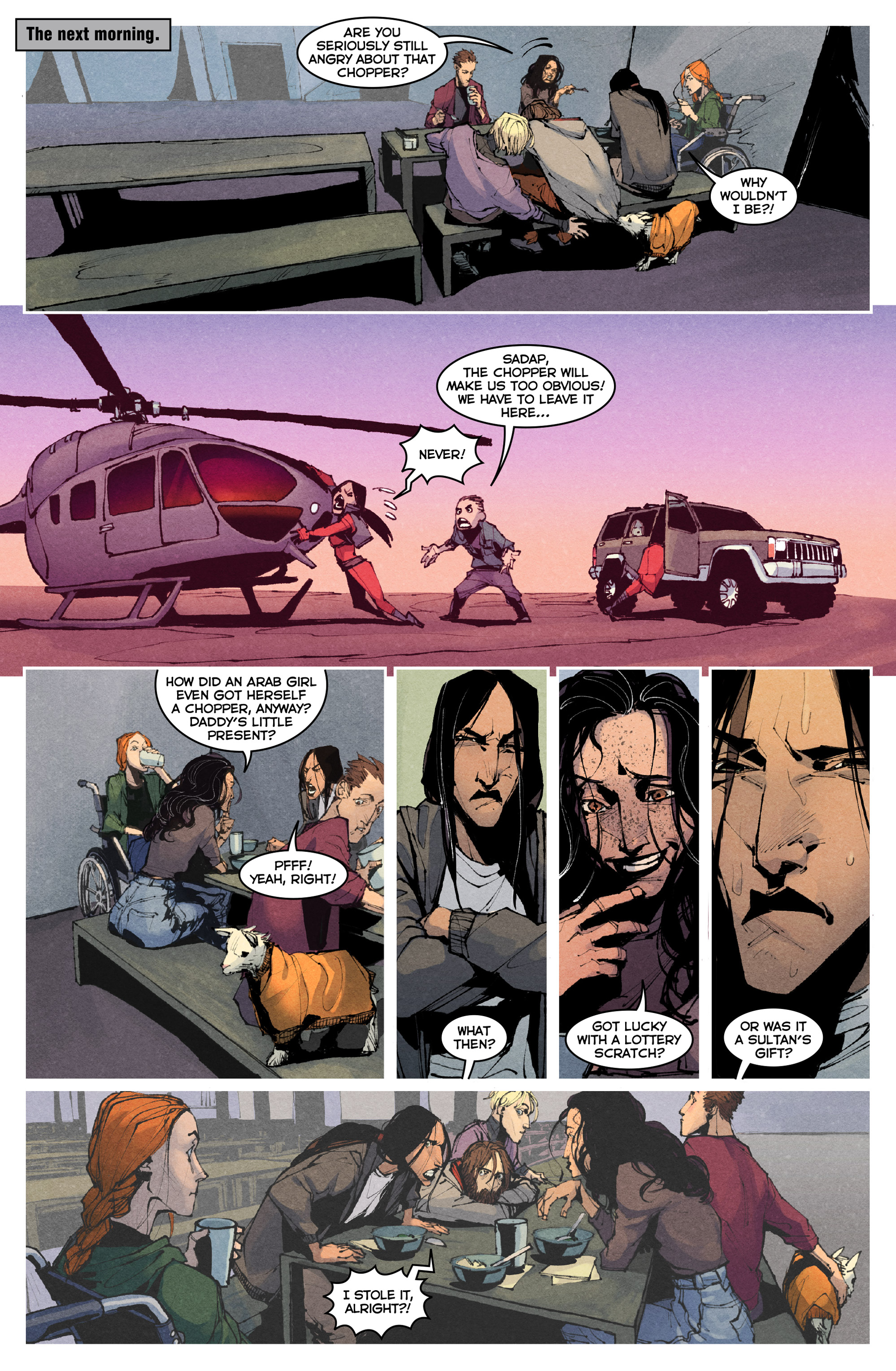 Read online Allies comic -  Issue #4 - 11