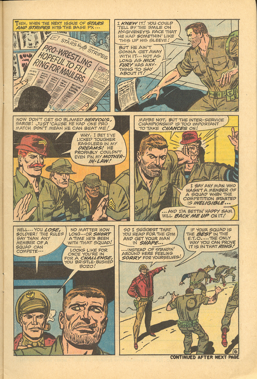 Read online Sgt. Fury comic -  Issue #83 - 9