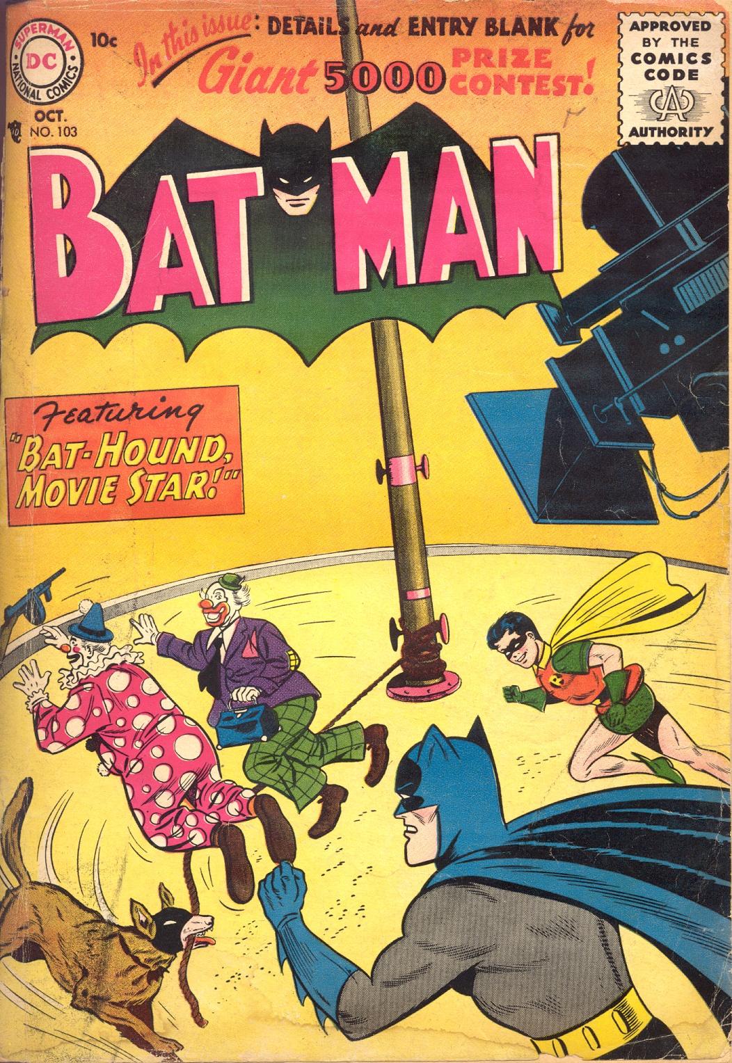 Batman (1940) 103 Page 1