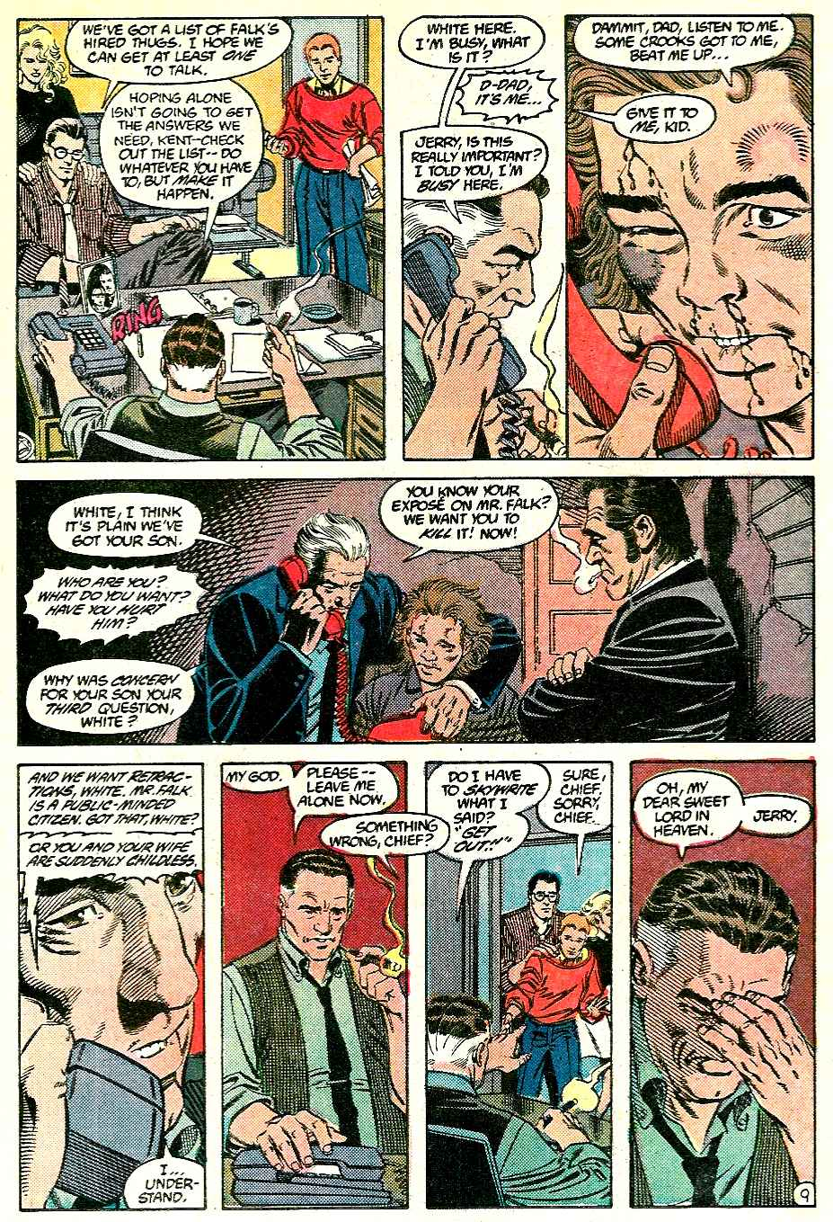 Read online Adventures of Superman (1987) comic -  Issue #428 - 9