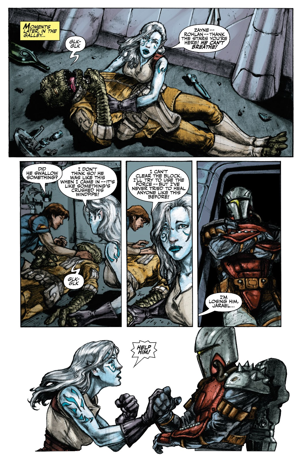 Read online Star Wars Legends: The Old Republic - Epic Collection comic -  Issue # TPB 3 (Part 1) - 17