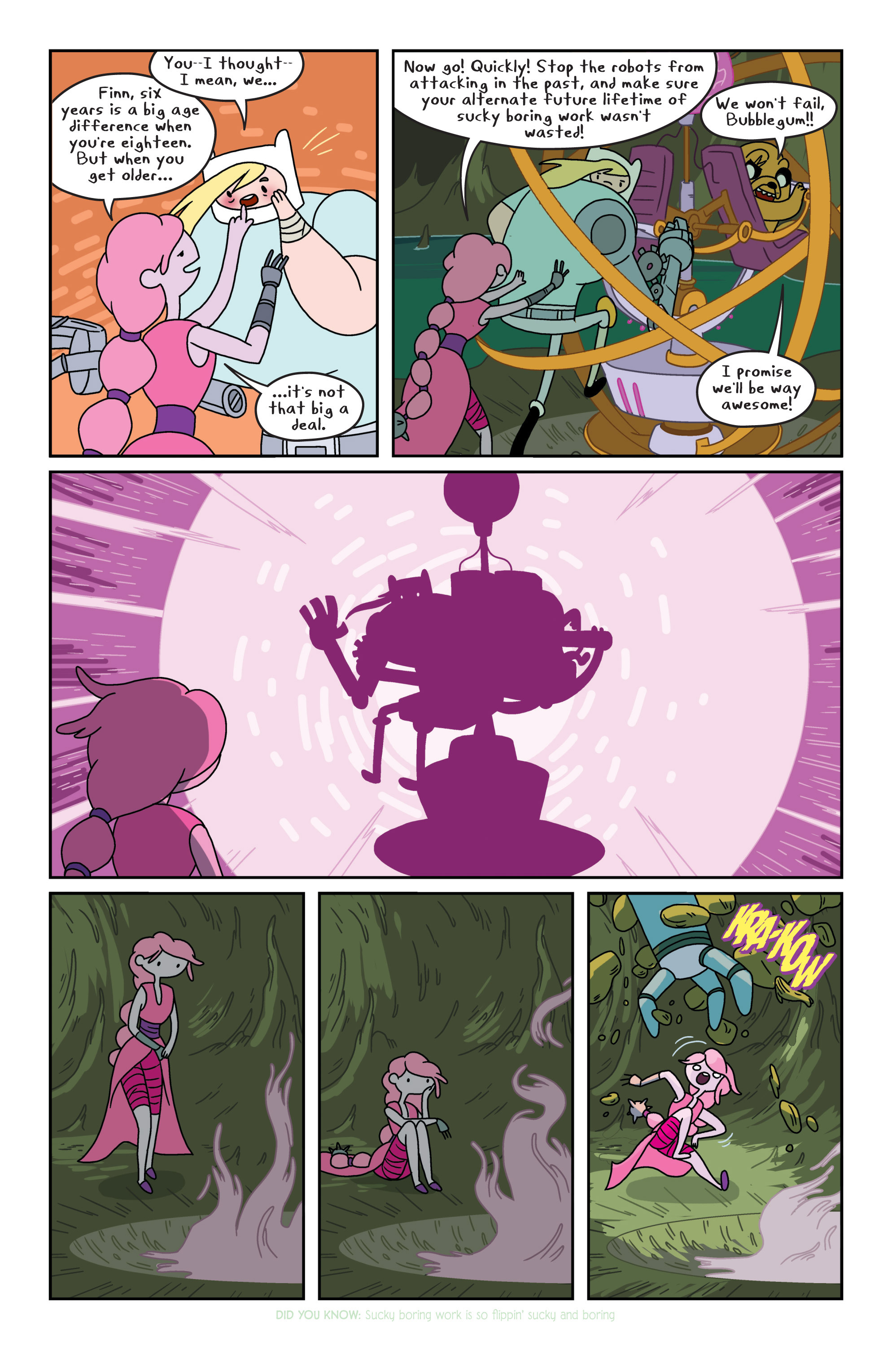 Read online Adventure Time comic -  Issue #8 - 19