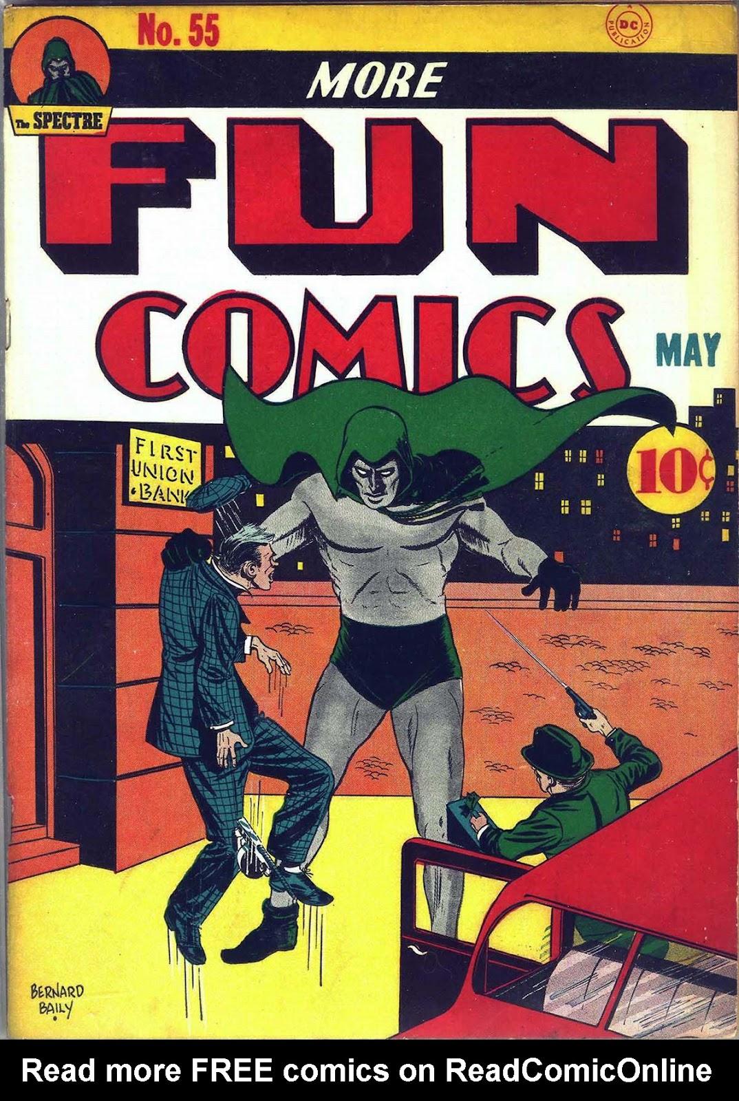 More Fun Comics 55 Page 1