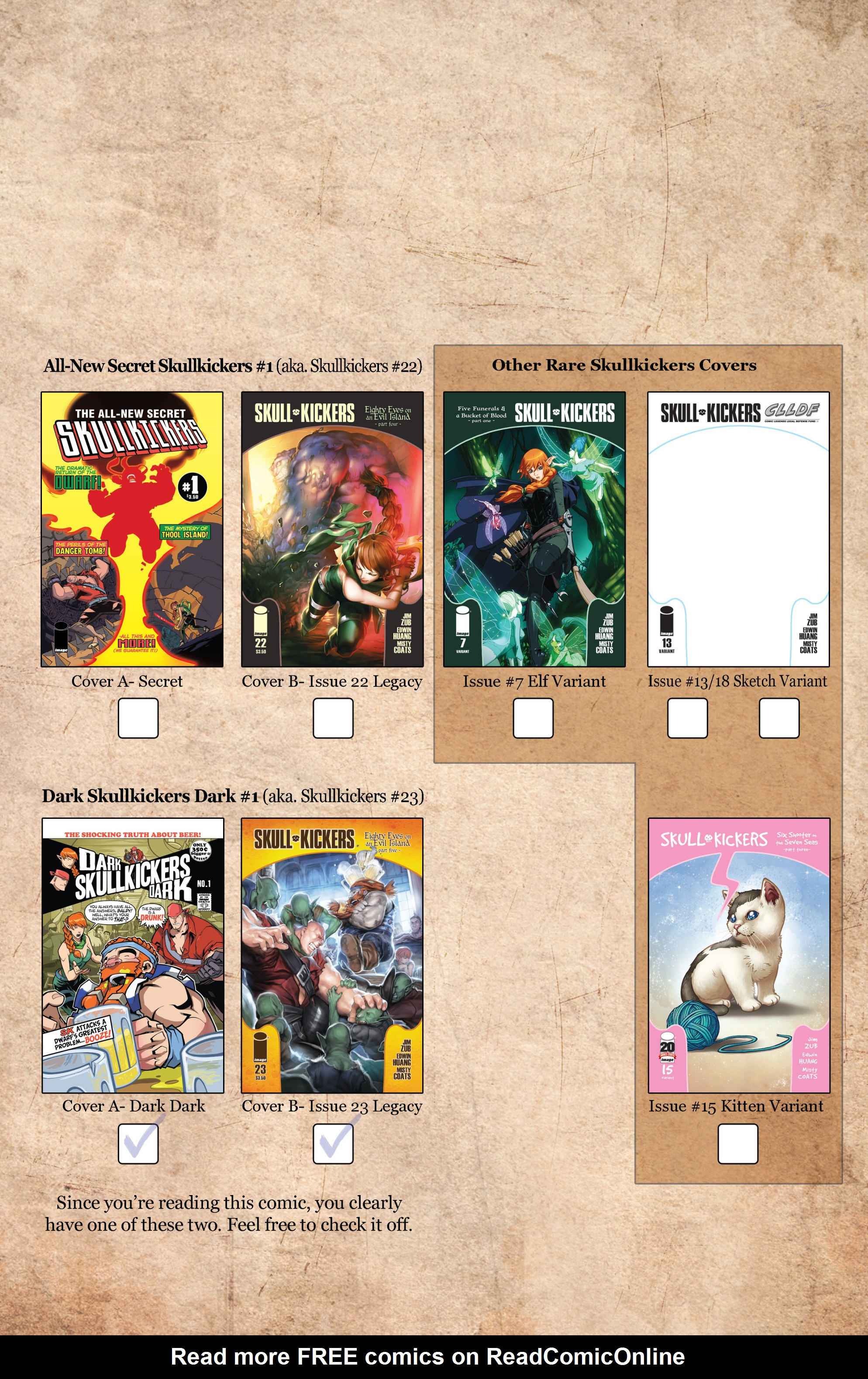 Read online Skullkickers comic -  Issue #23 - 26