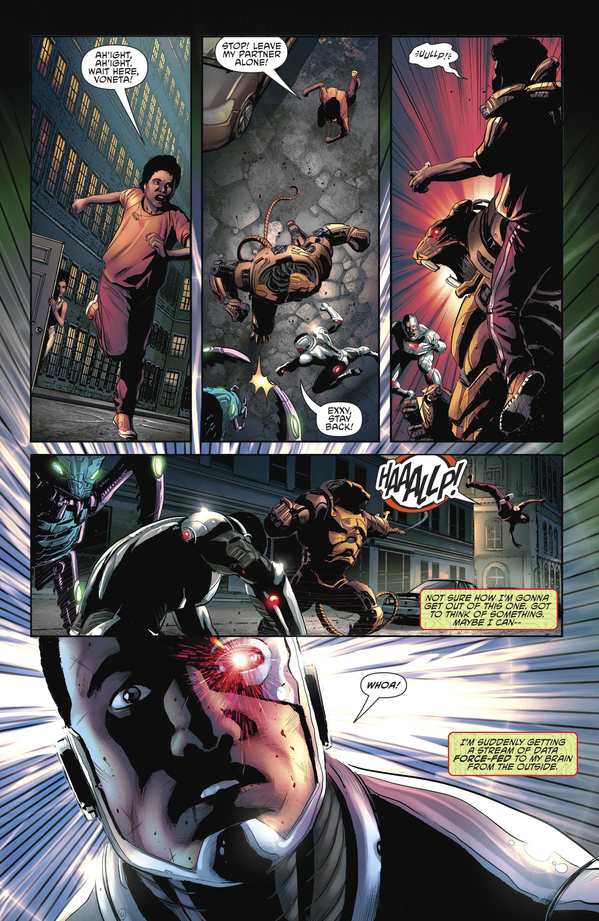 Read online Cyborg (2016) comic -  Issue #12 - 20