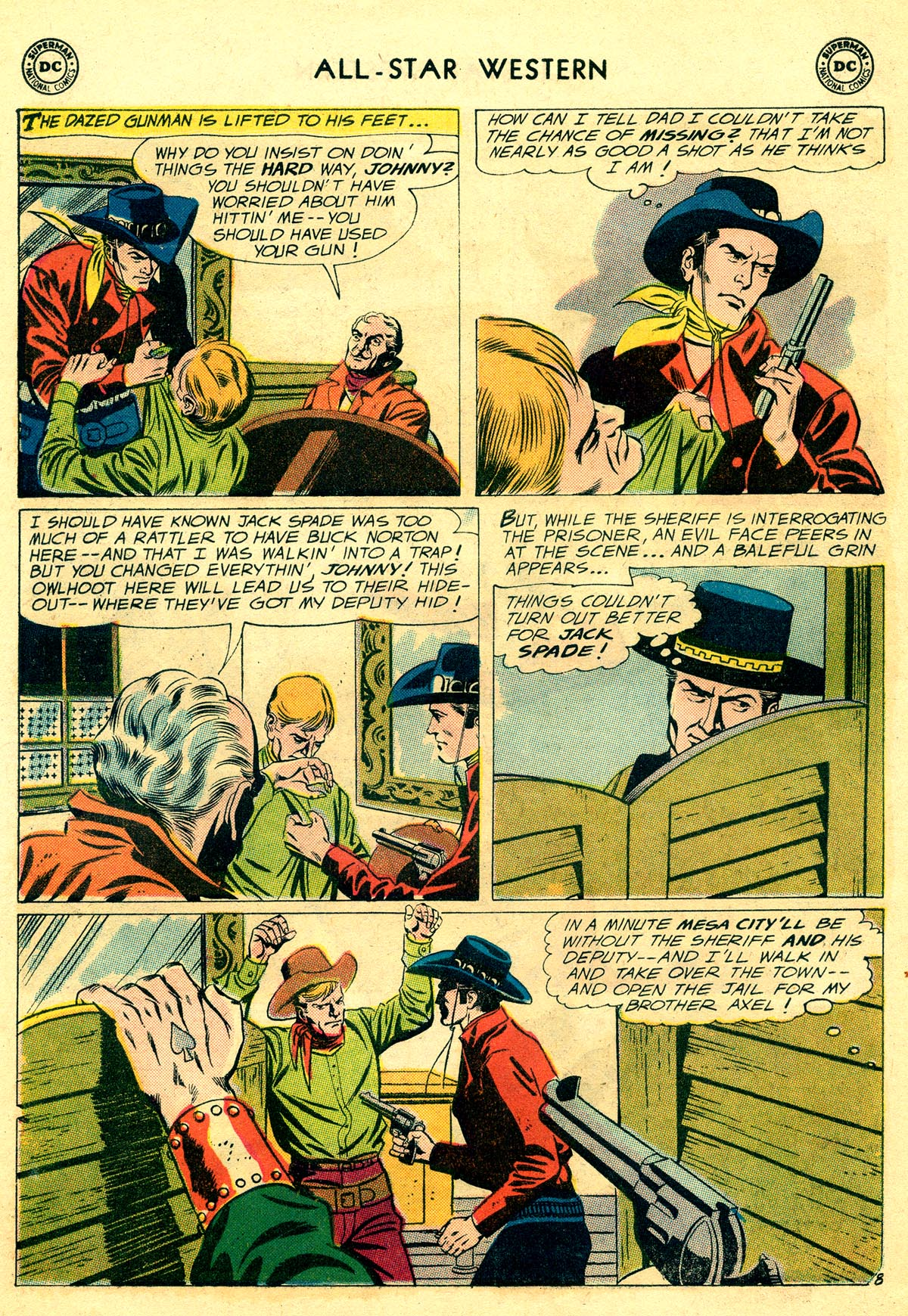 Read online All-Star Western (1951) comic -  Issue #109 - 10