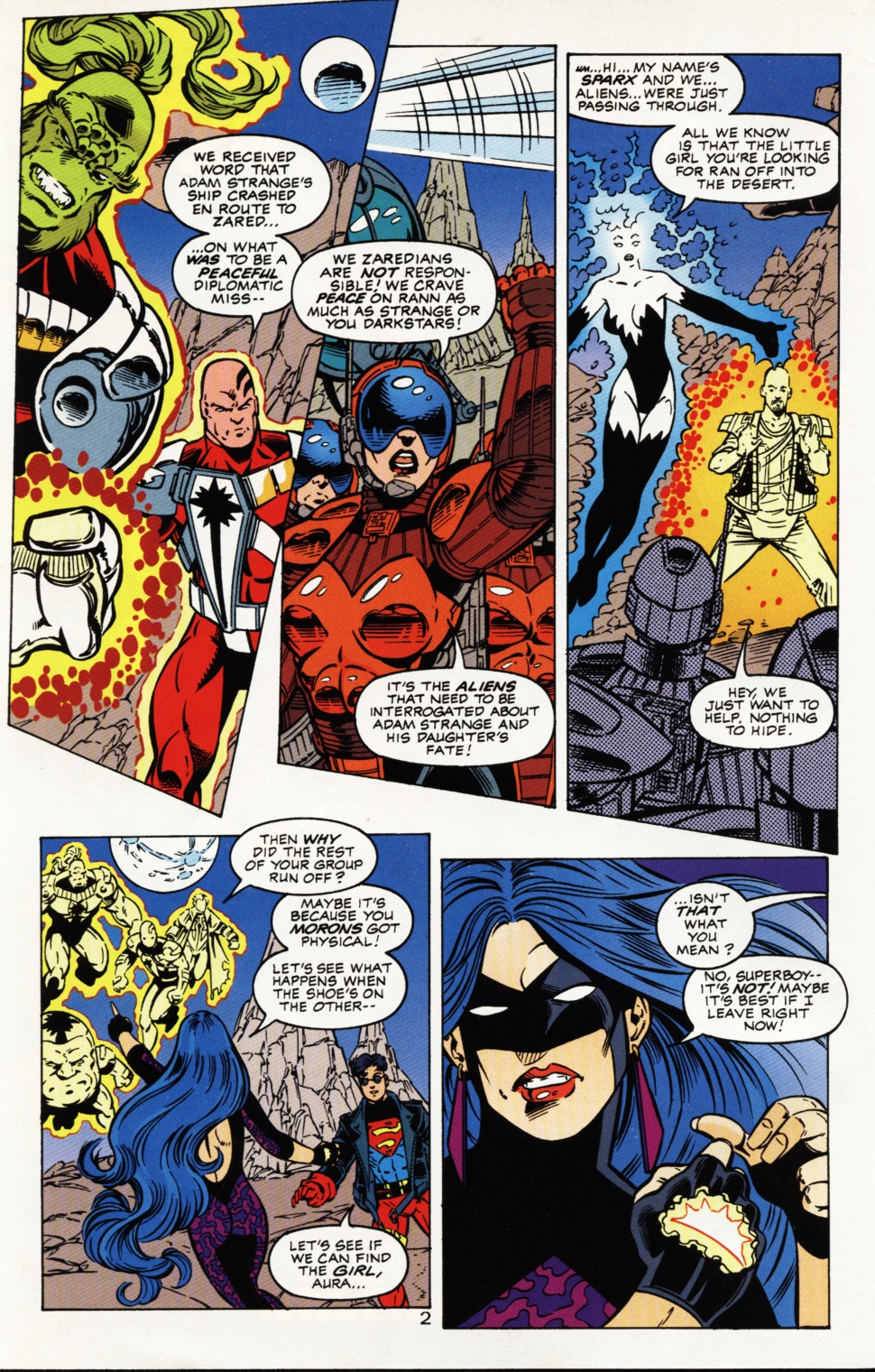 Read online Superboy & The Ravers comic -  Issue #4 - 3