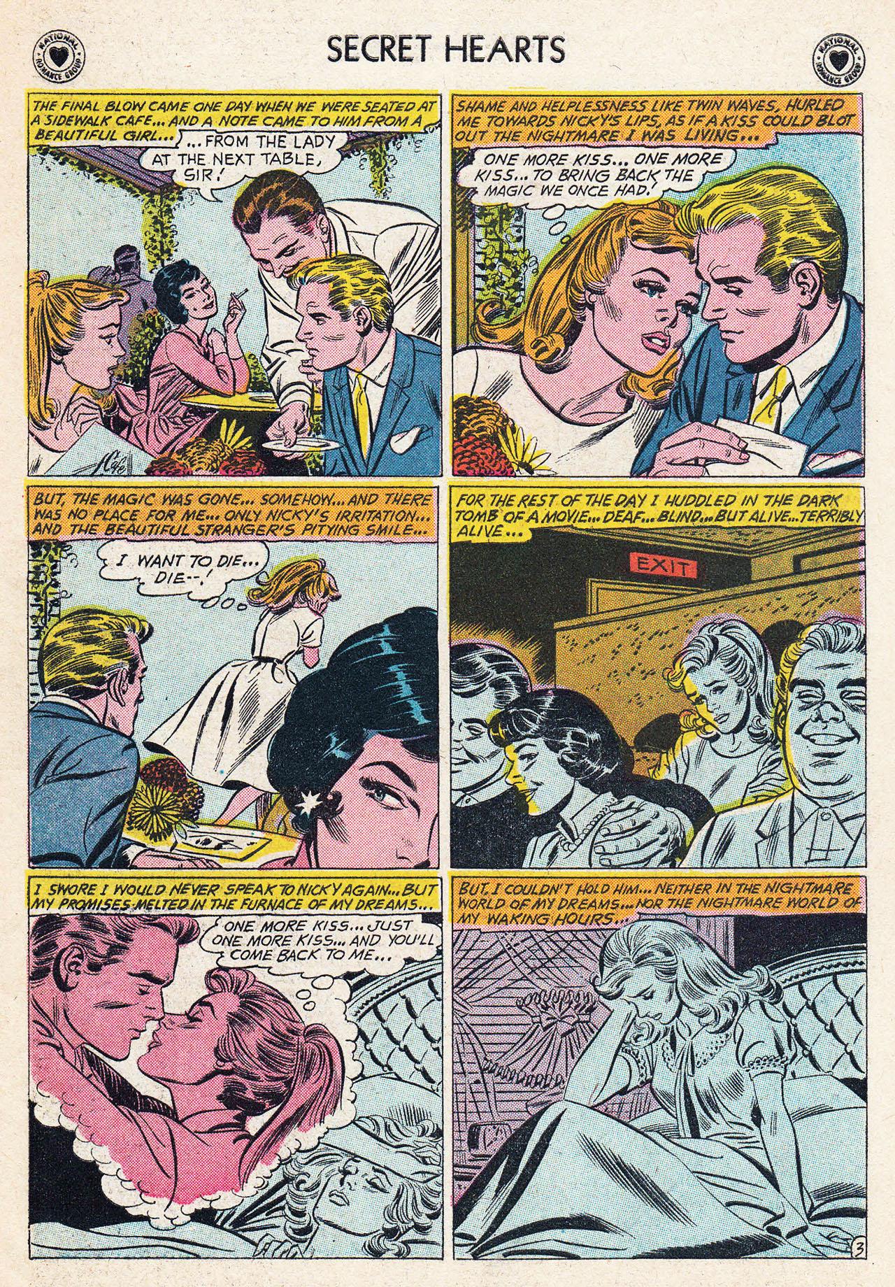 Read online Secret Hearts comic -  Issue #75 - 29