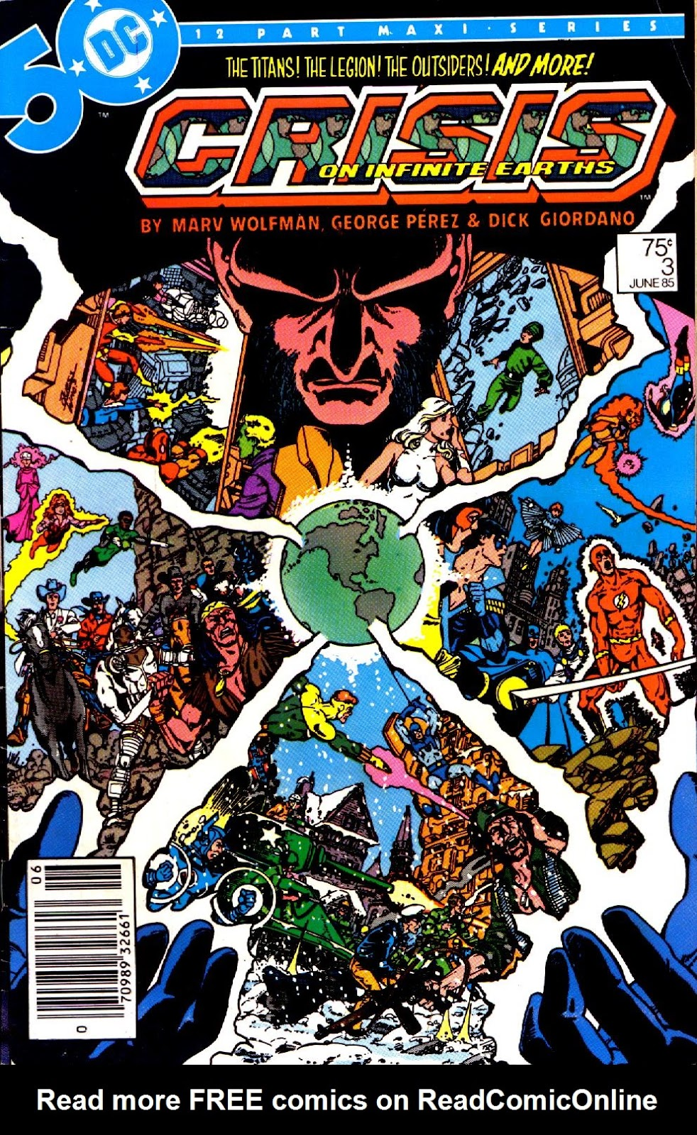 Crisis on Infinite Earths (1985) 3 Page 1