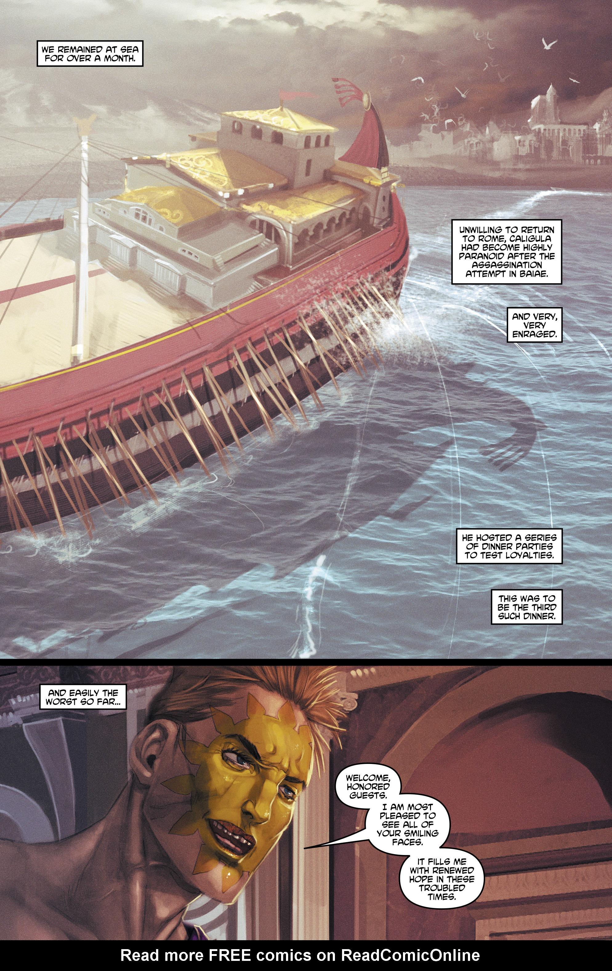Caligula Issue 3   Read Caligula Issue 3 comic online in