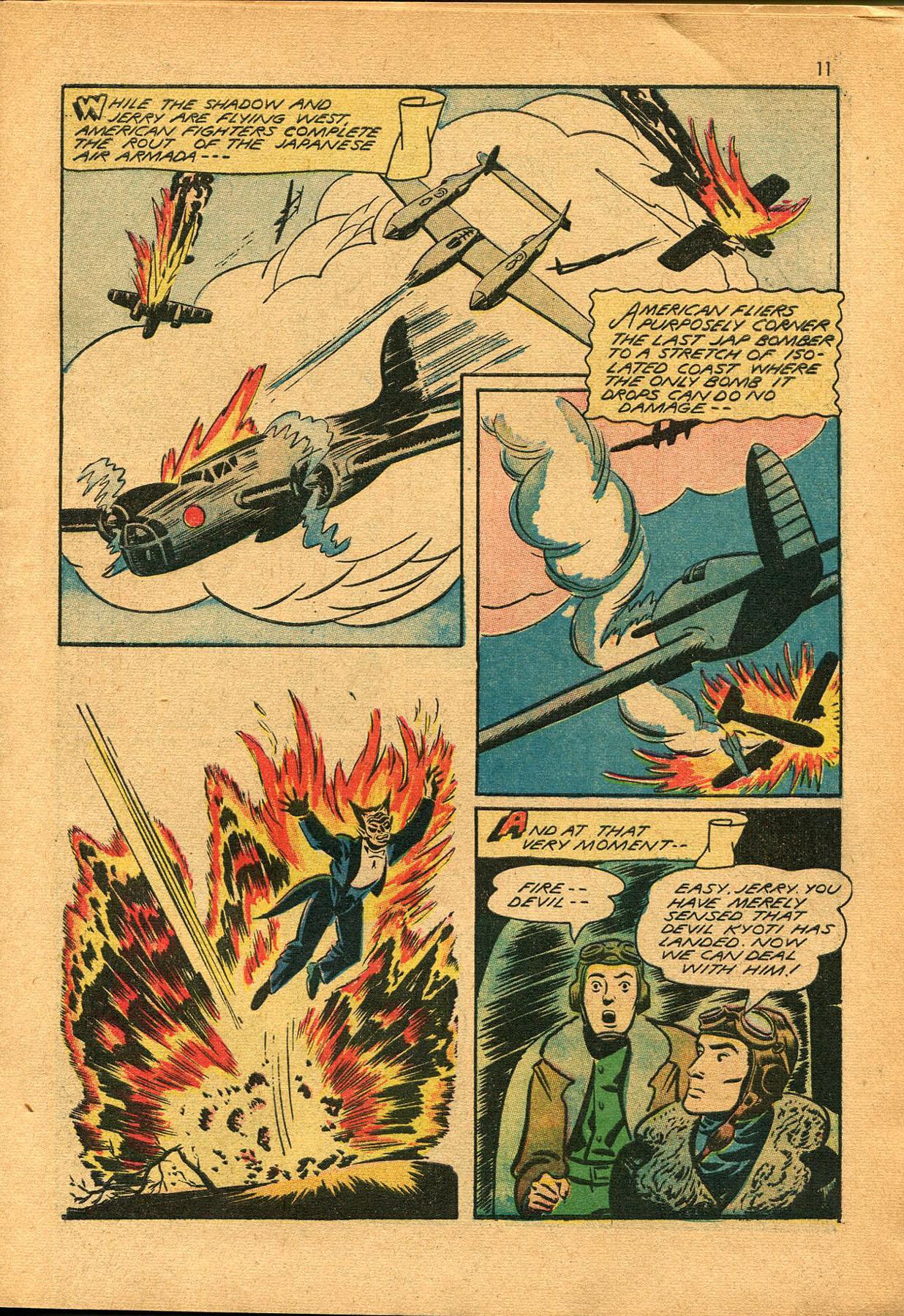 Read online Shadow Comics comic -  Issue #23 - 11