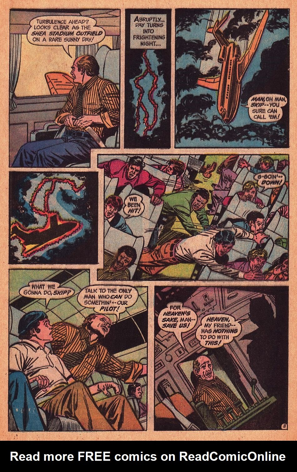 Read online Strange Sports Stories (1973) comic -  Issue #1 - 4