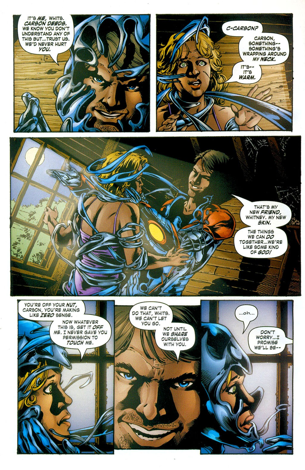 Read online ArmorX comic -  Issue #3 - 4