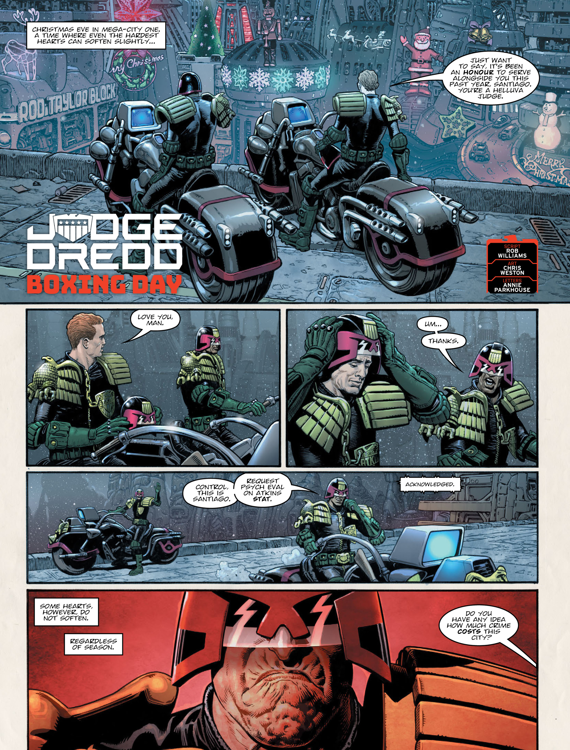 Read online 2000 AD comic -  Issue #2011 - 4