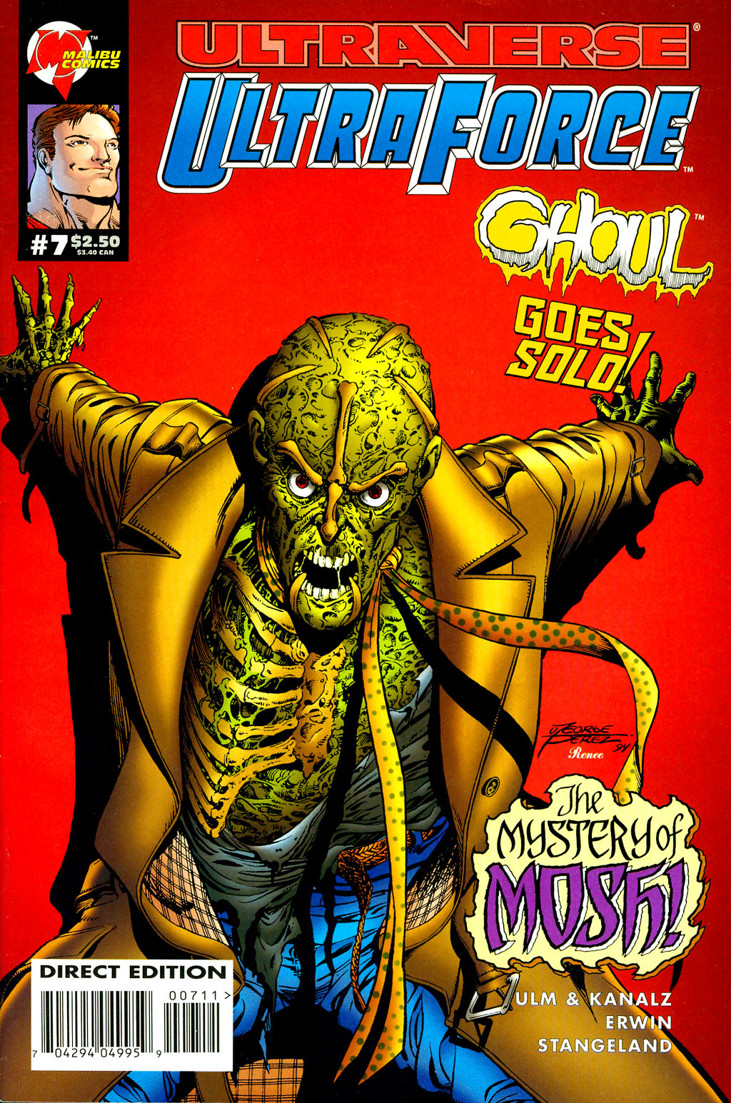 Read online UltraForce (1994) comic -  Issue #7 - 1