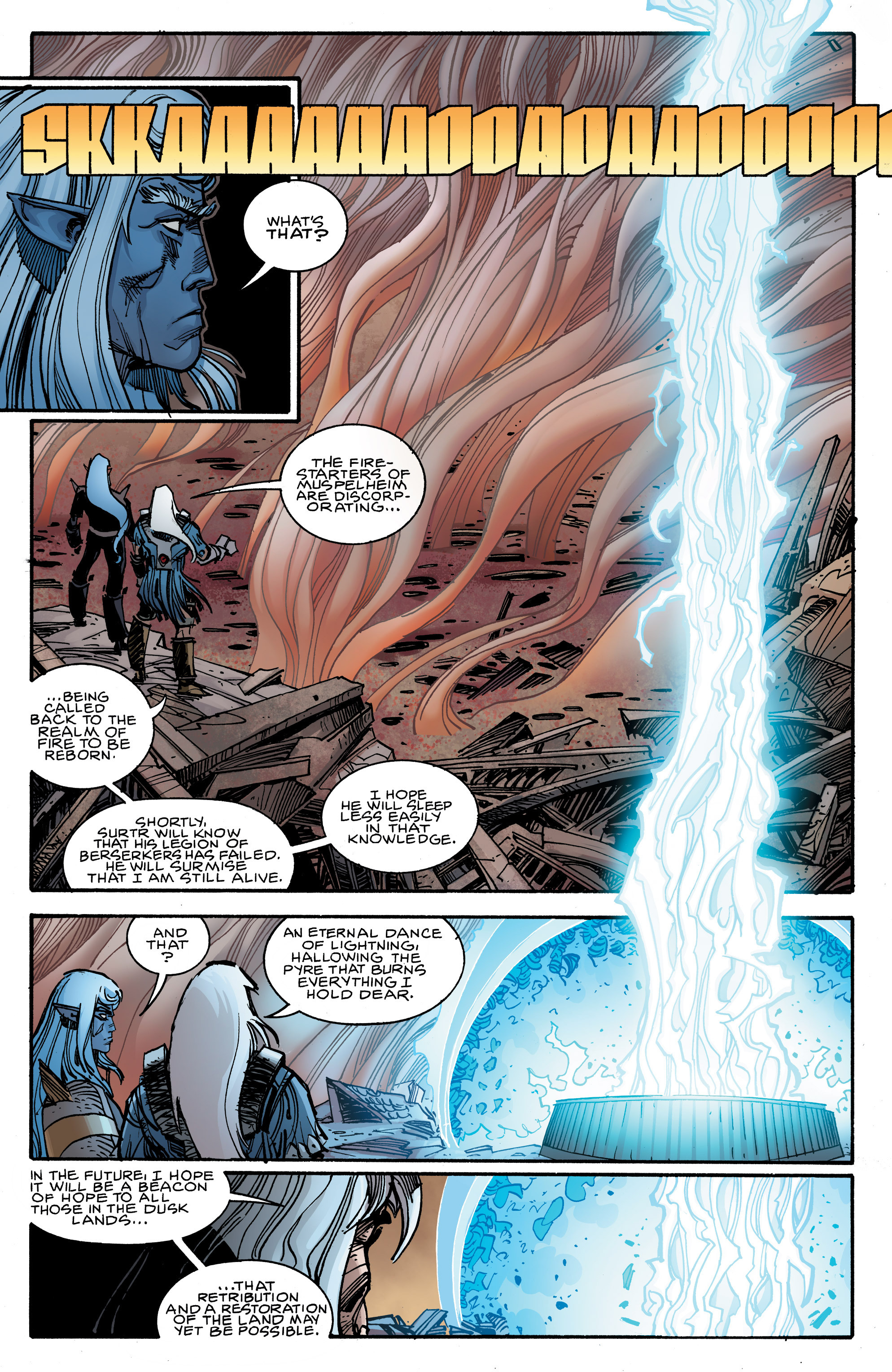 Read online Ragnarok comic -  Issue #9 - 5