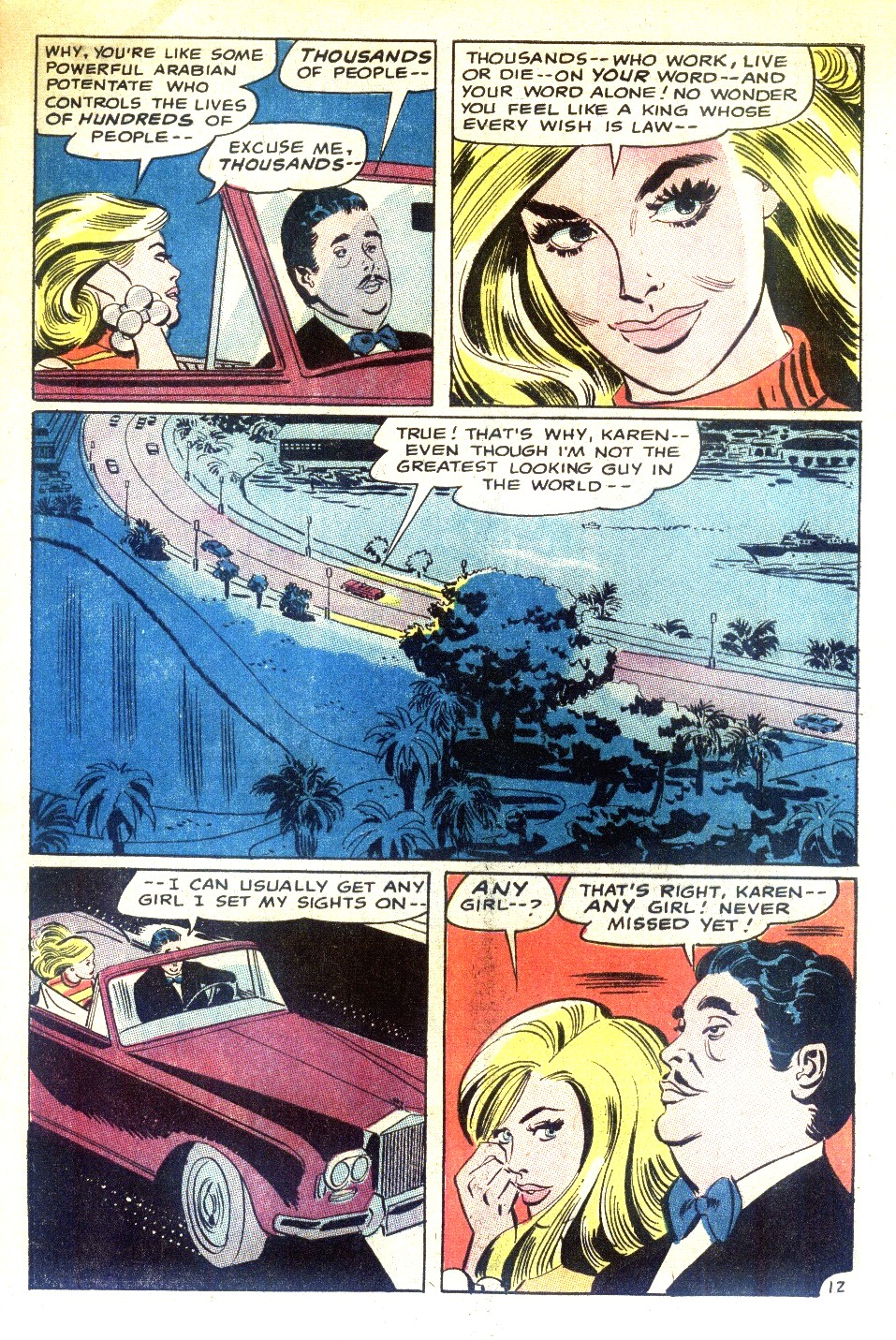 Read online Secret Hearts comic -  Issue #130 - 29