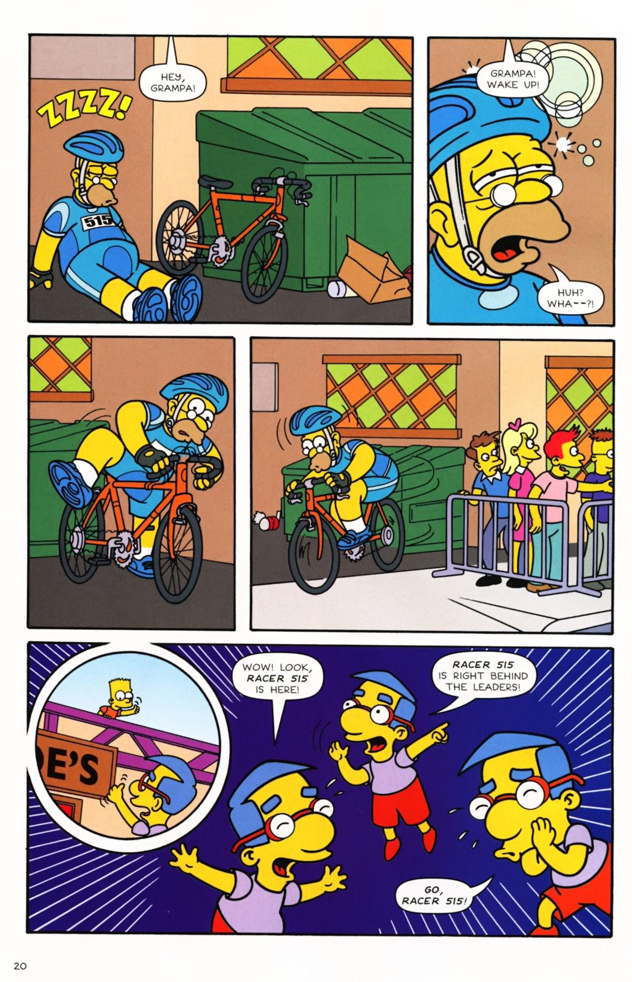 Read online Simpsons Comics comic -  Issue #166 - 17